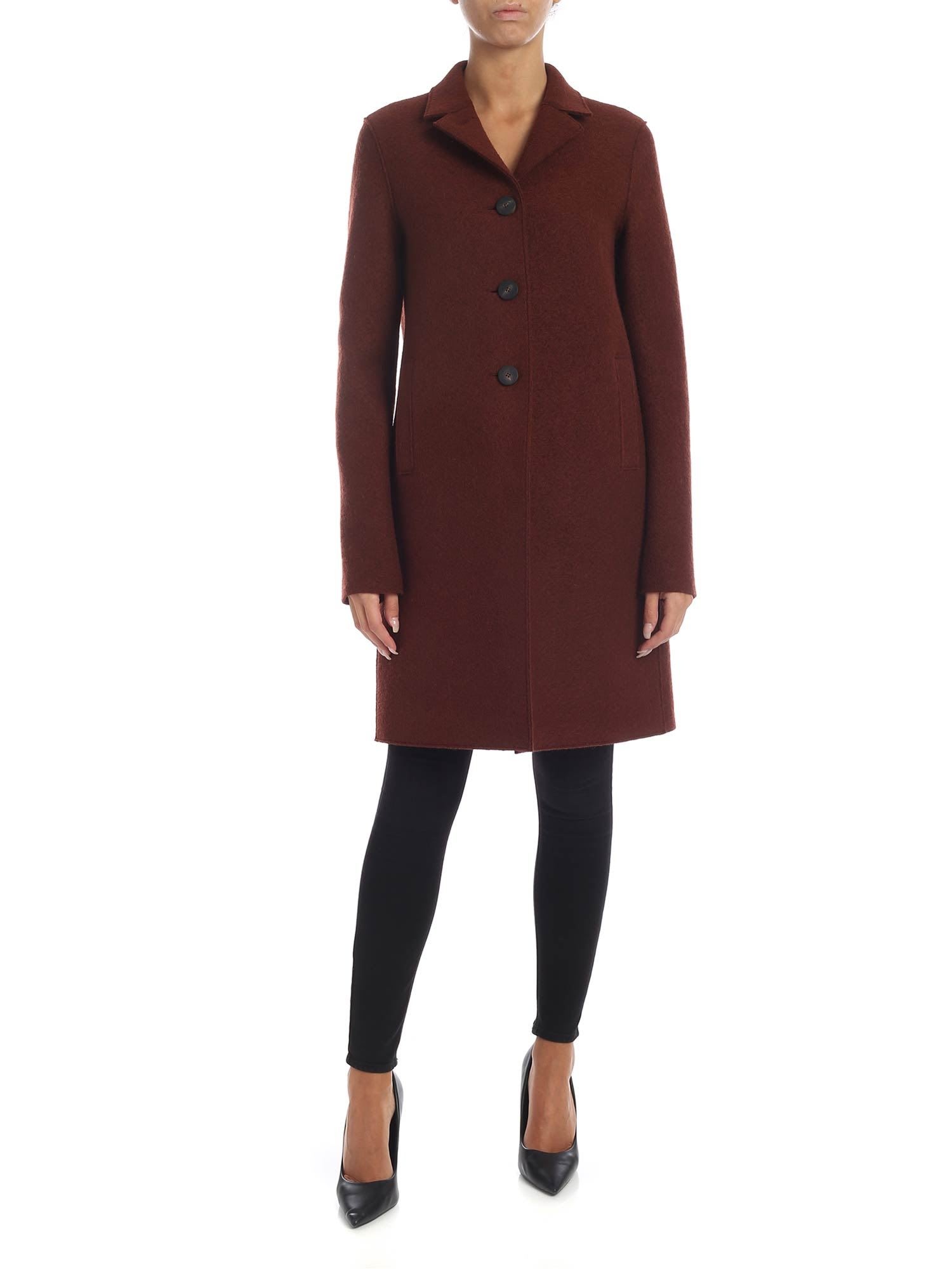 Harris Wharf London – Virgin Wool Cloth Coat