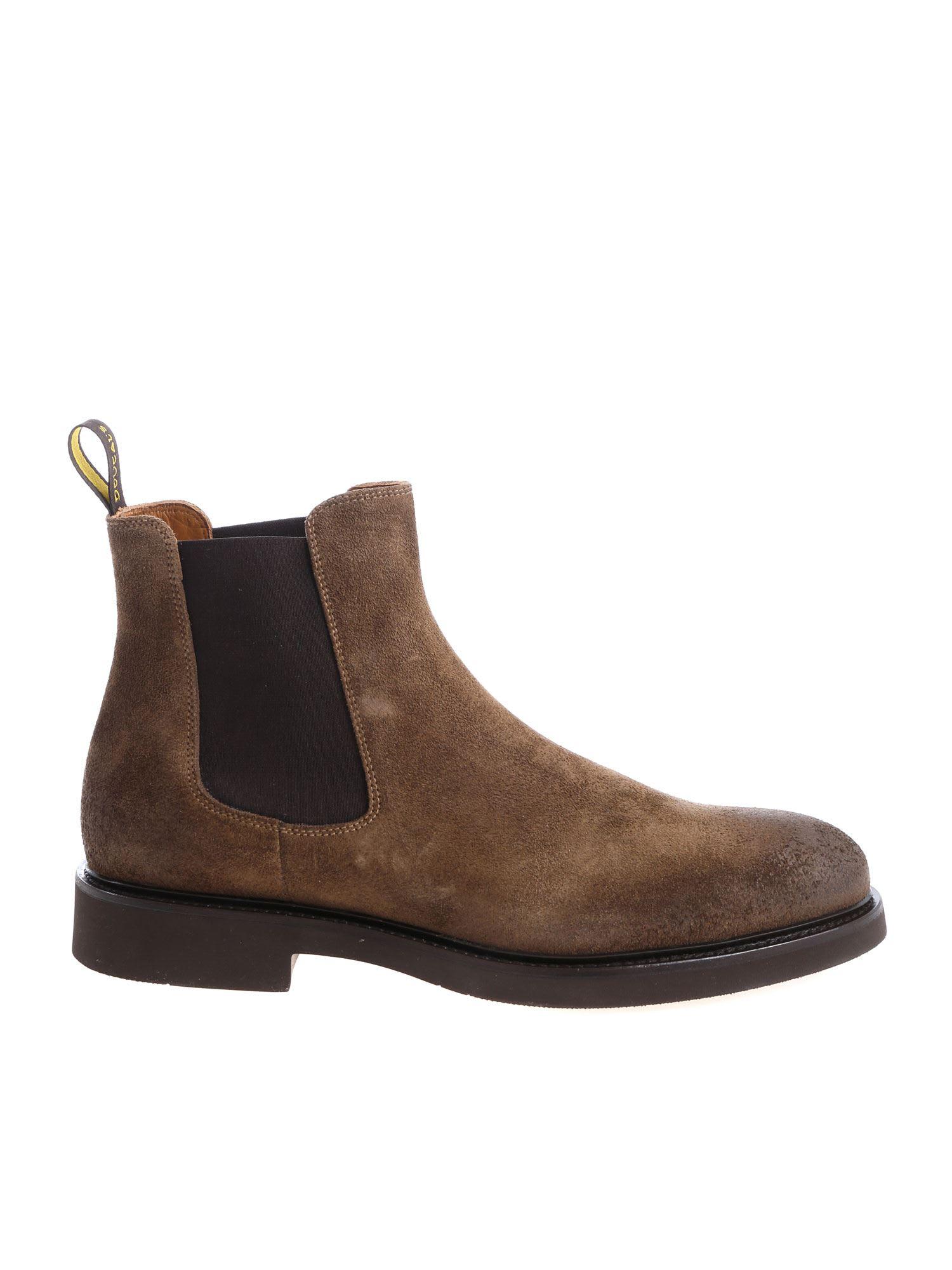Doucals Vintage Suede Boots