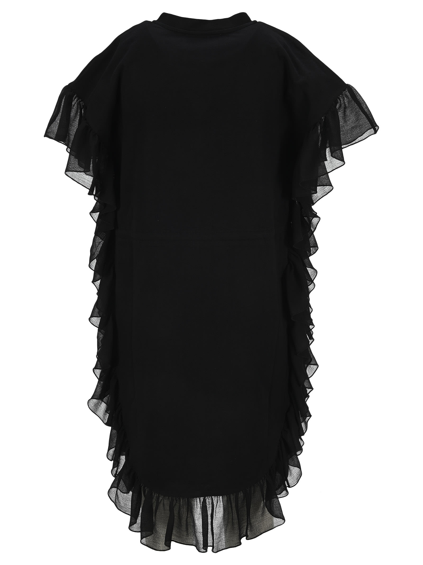 Buy See By Chloe Ruffled Drawstring-waist Dress online, shop See by Chloé with free shipping