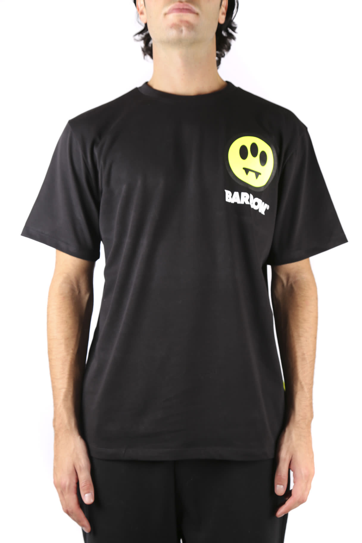 Barrow Barrow Invasion T-shirt In Black Cotton