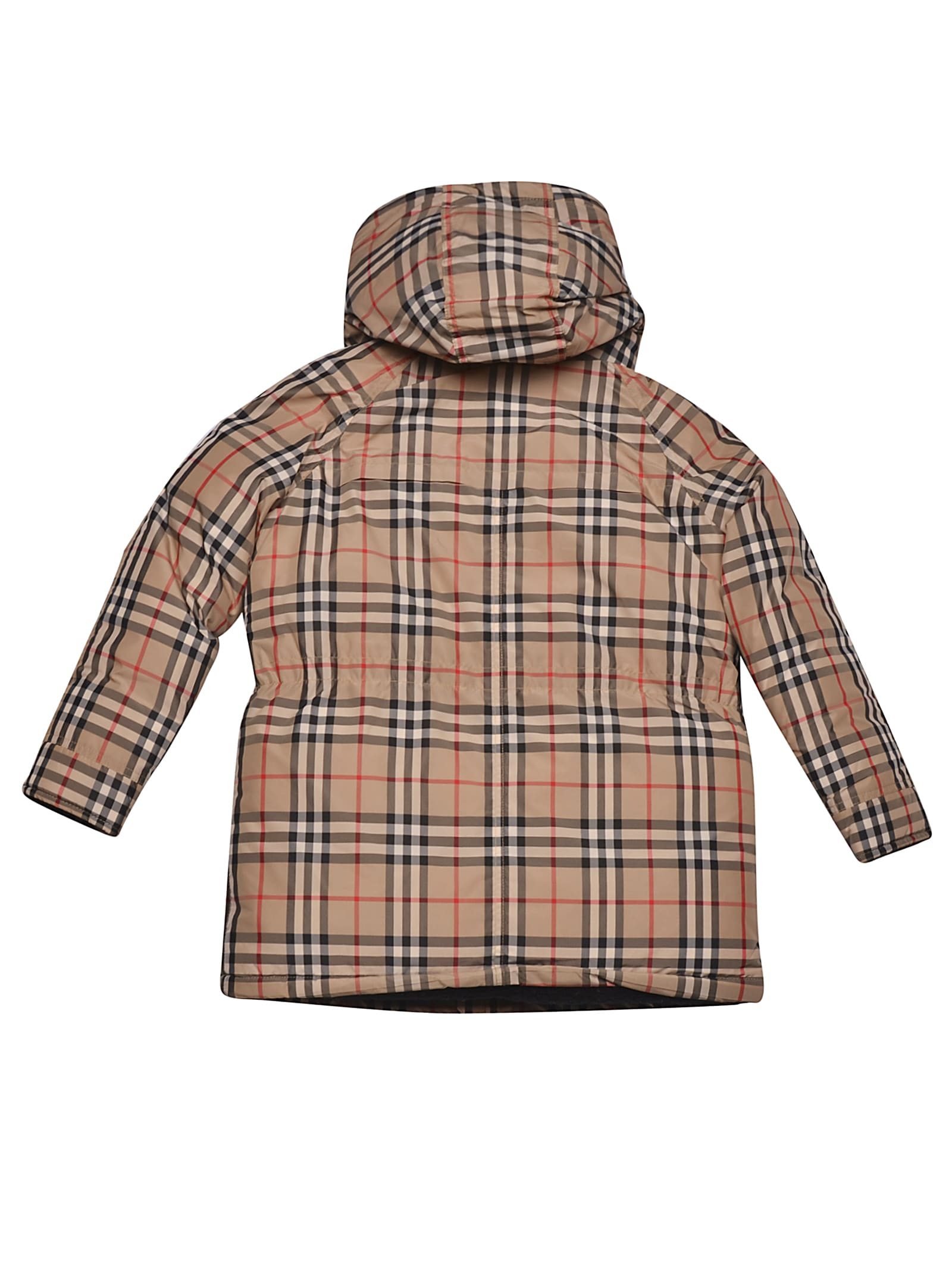 factory outlet autumn shoes beauty Burberry Burberry Check Padded Coat - PANNA - 11042724 | italist