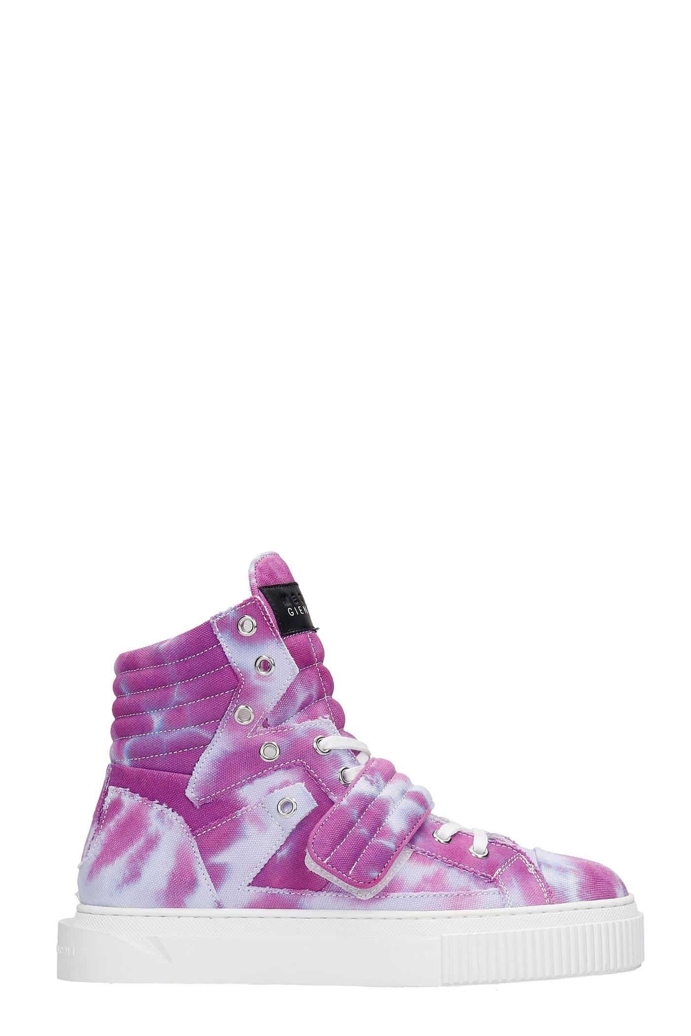 Hypnos Sneakers In Viola Canvas