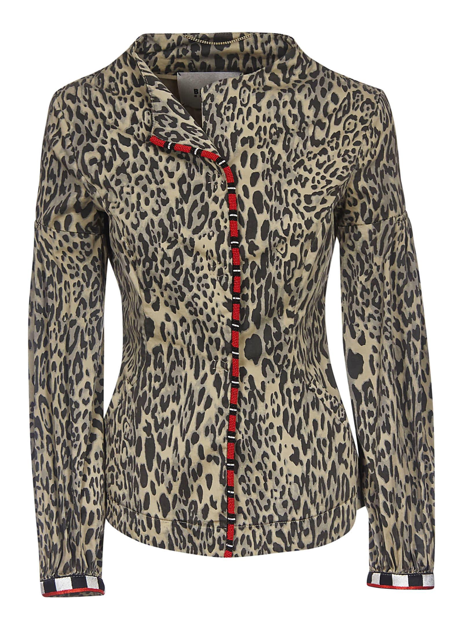 Bazar Deluxe Leopard Print Jacket