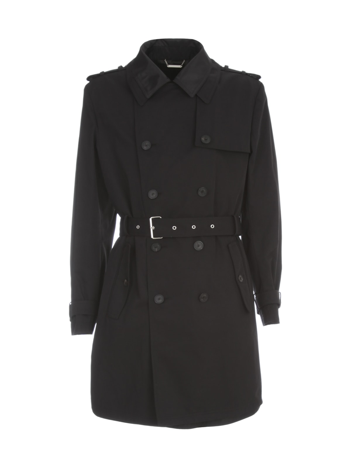 Les Hommes DOUBLE LAYER TRENCH