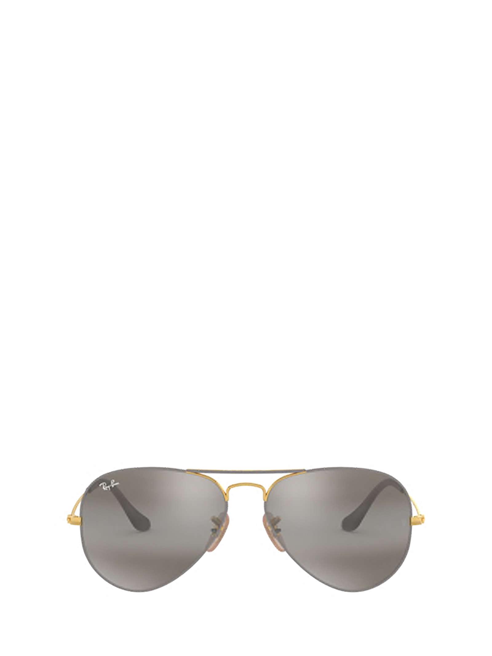 Ray-Ban Ray-ban Rb3025 Gold On Top Matte Grey Sunglasses