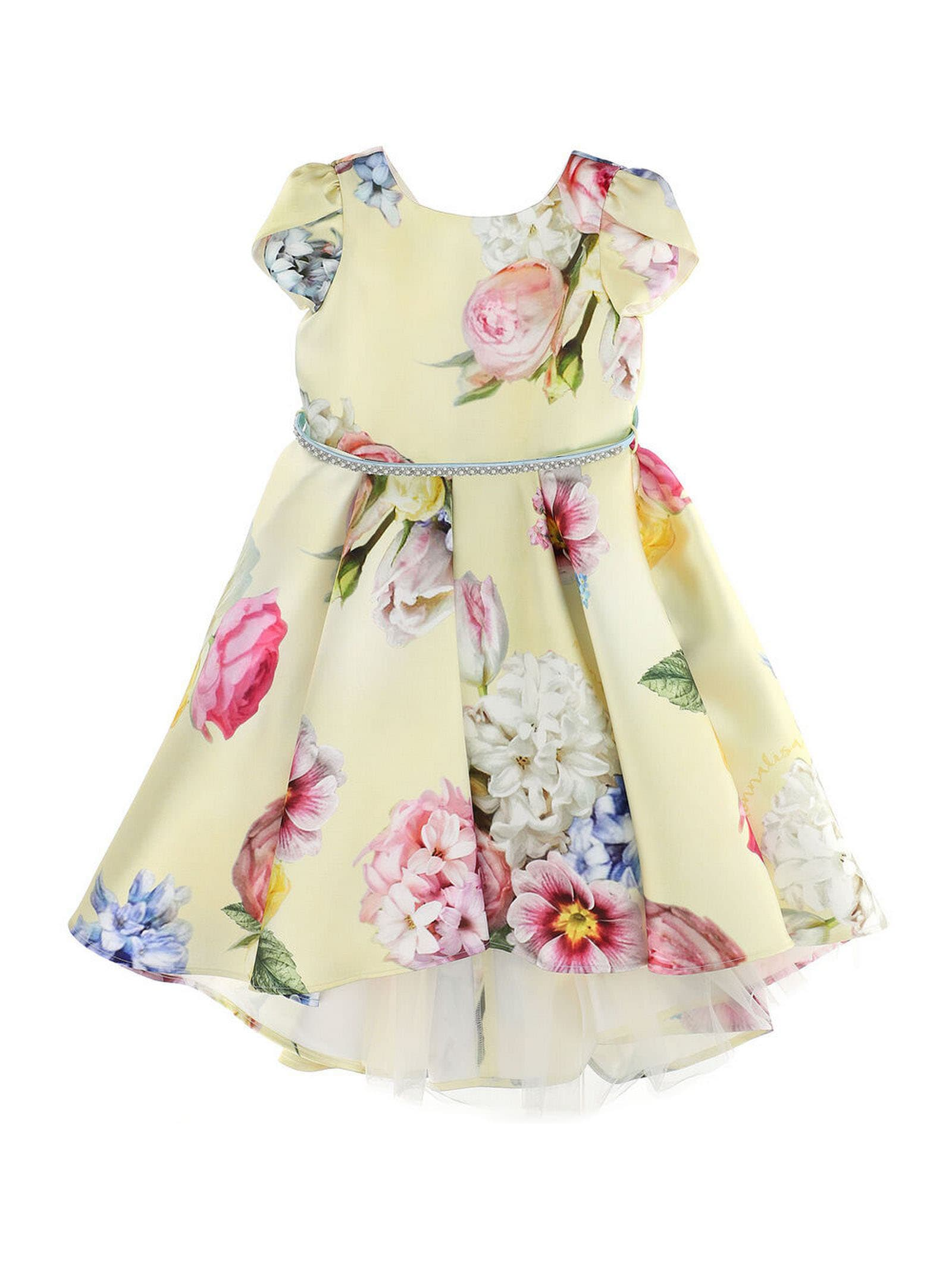 Buy Monnalisa Multicoloured Dress online, shop Monnalisa with free shipping