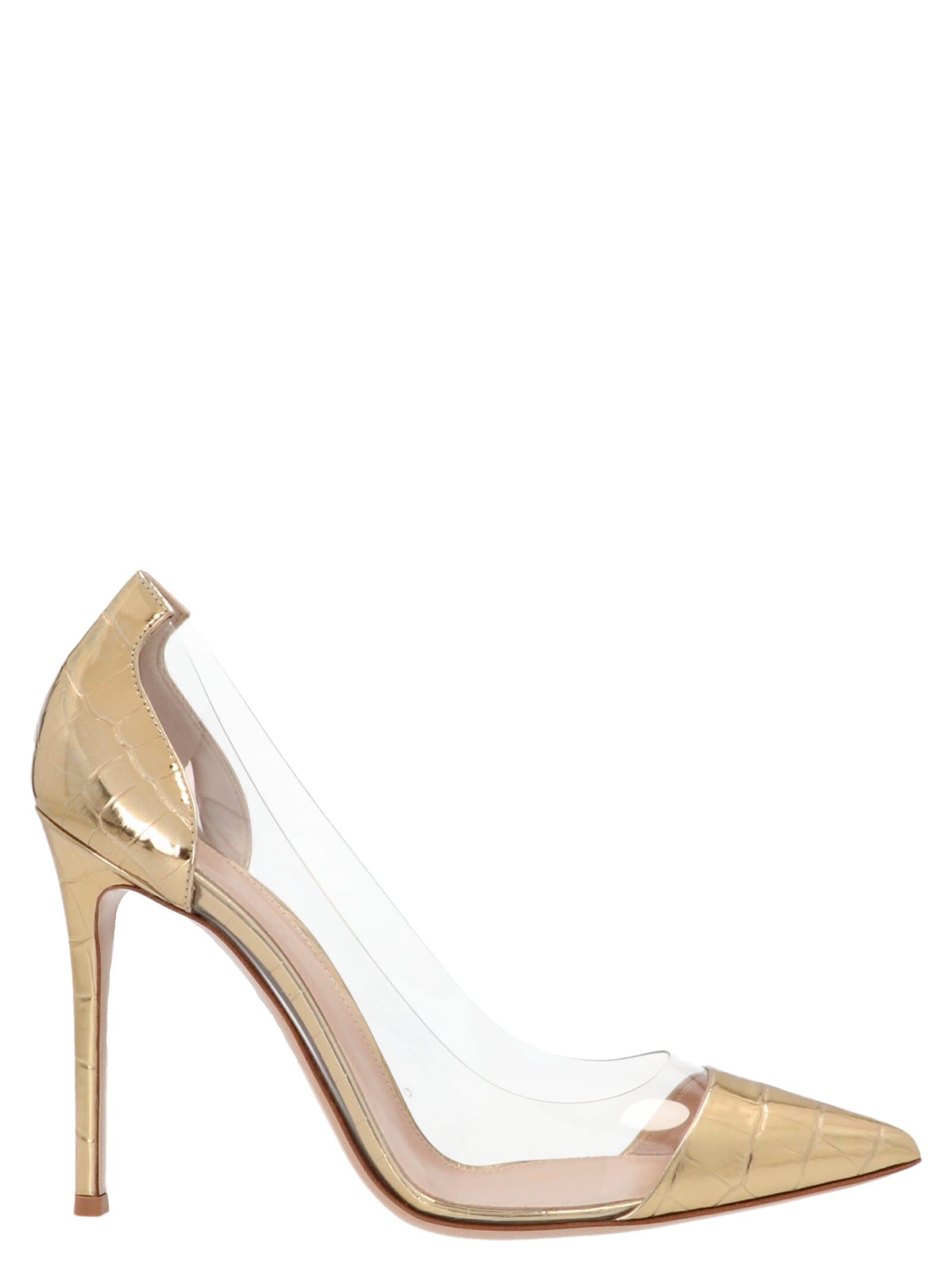 Gianvito Rossi plexi Shoes