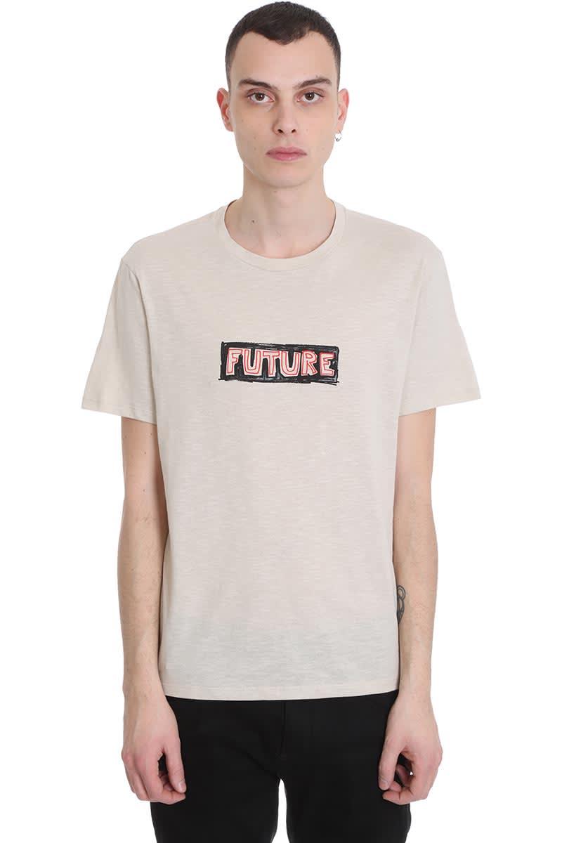 Neil Barrett T-shirt In Beige Cotton