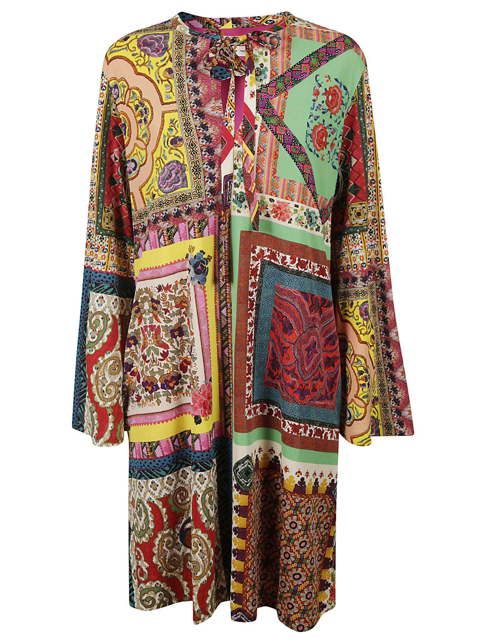 Buy Etro Giglio Jersey Dress online, shop Etro with free shipping