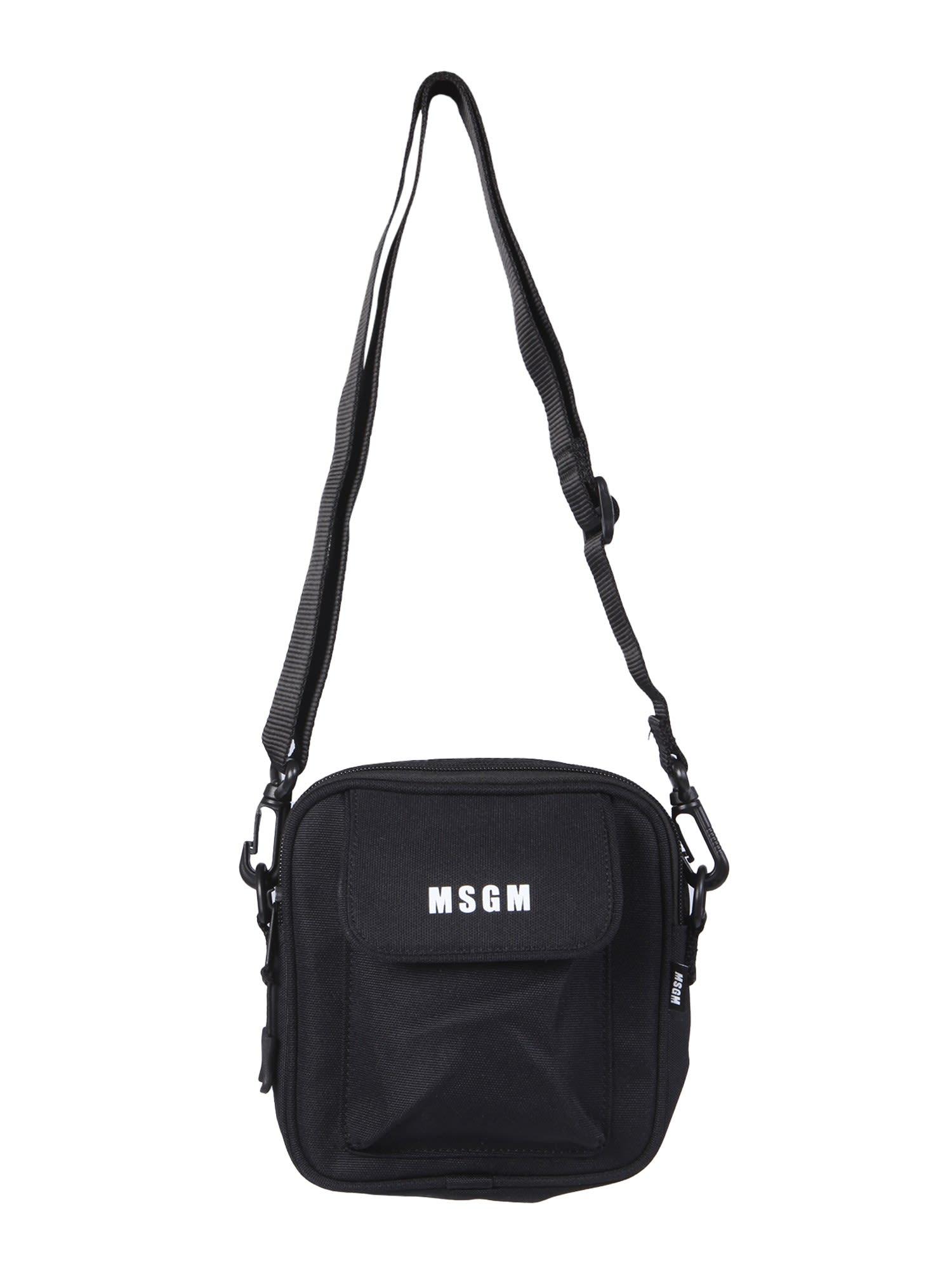 Msgm Messengers SHOULDER BAG WITH MICRO LOGO