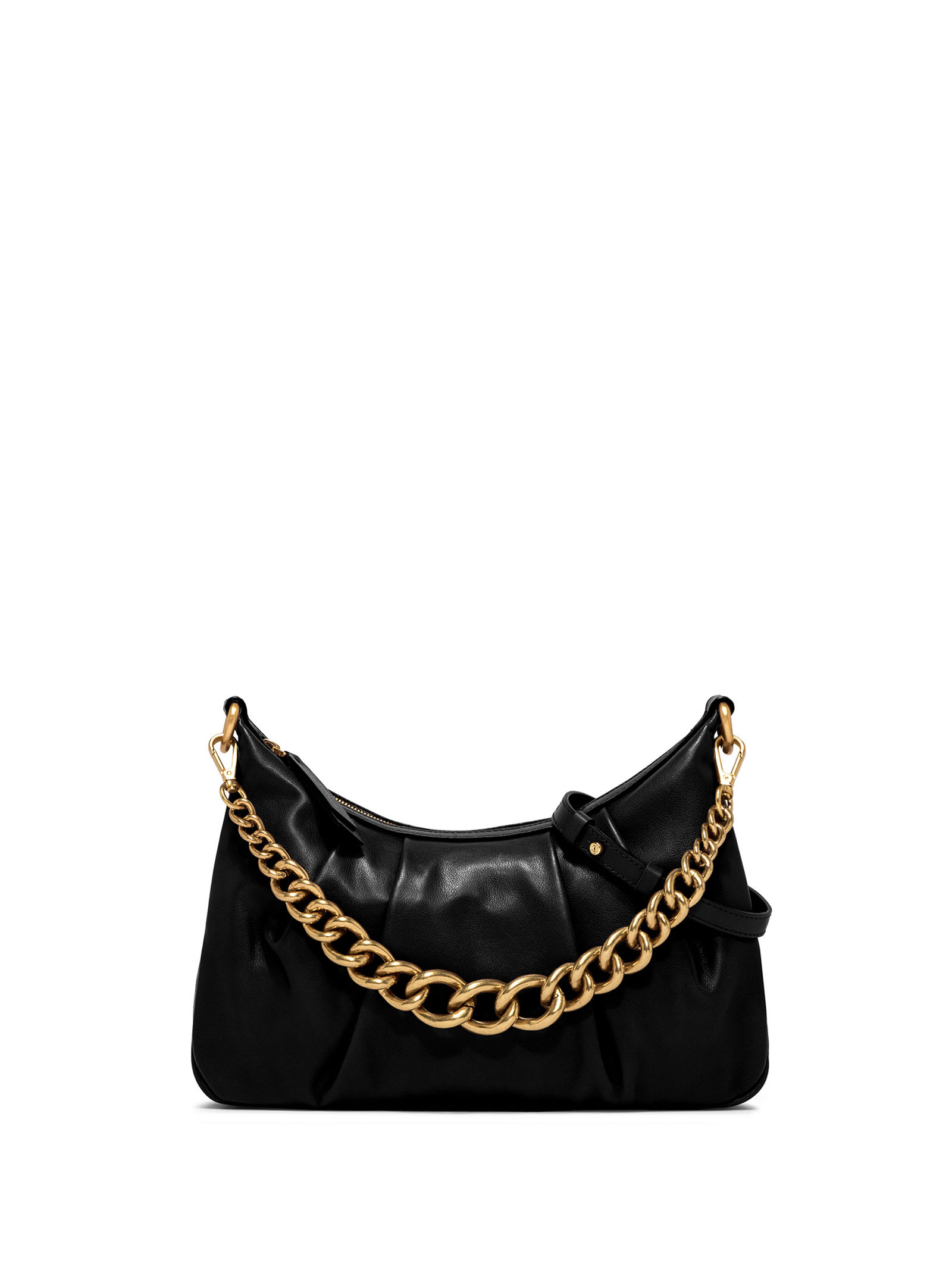Leather Bag With Chain