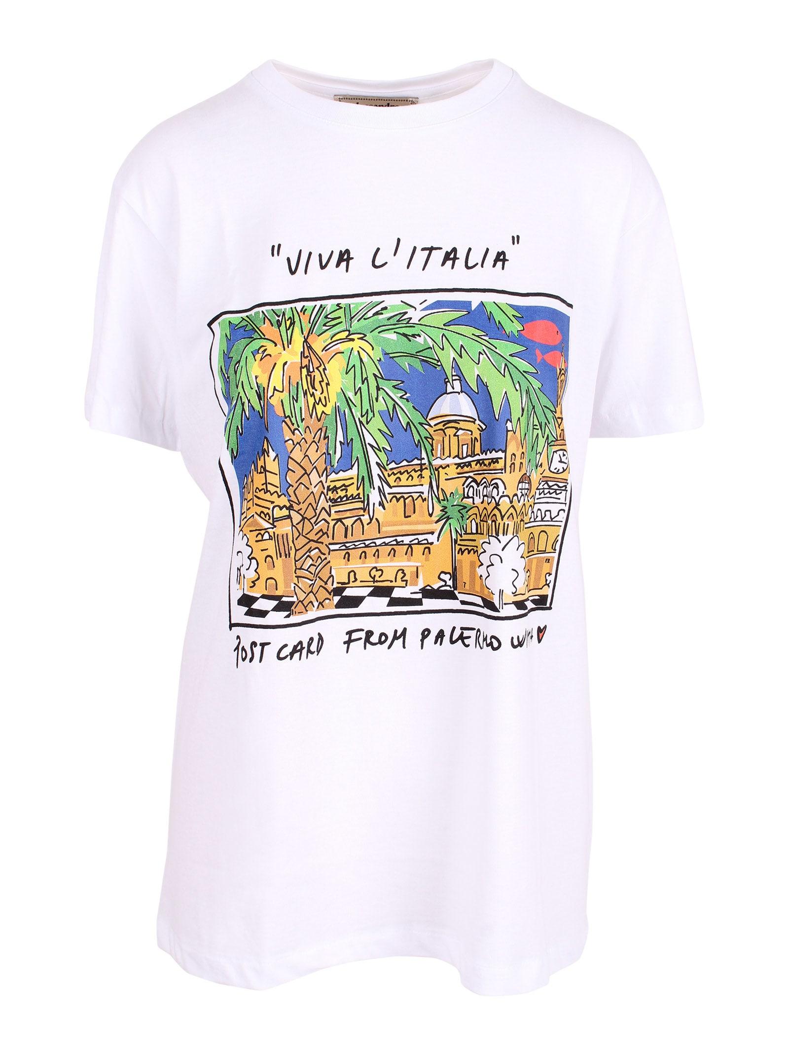 palermo Print Cotton T-shirt