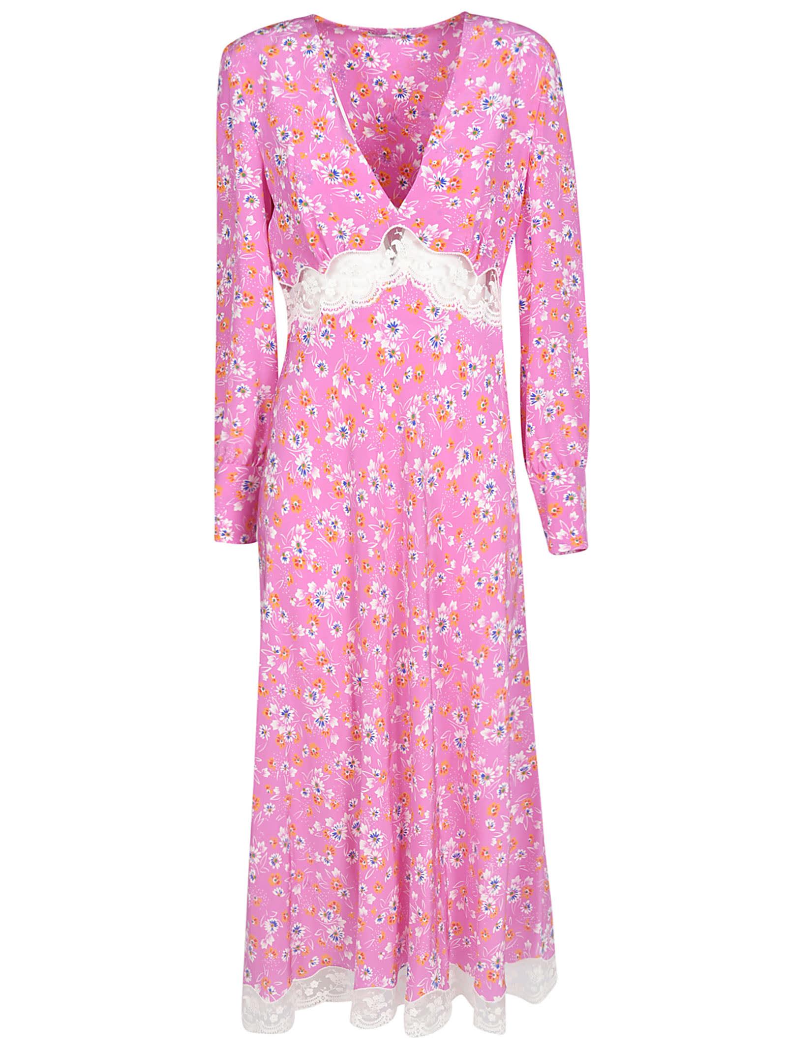 Buy Miu Miu Floral Dress online, shop Miu Miu with free shipping