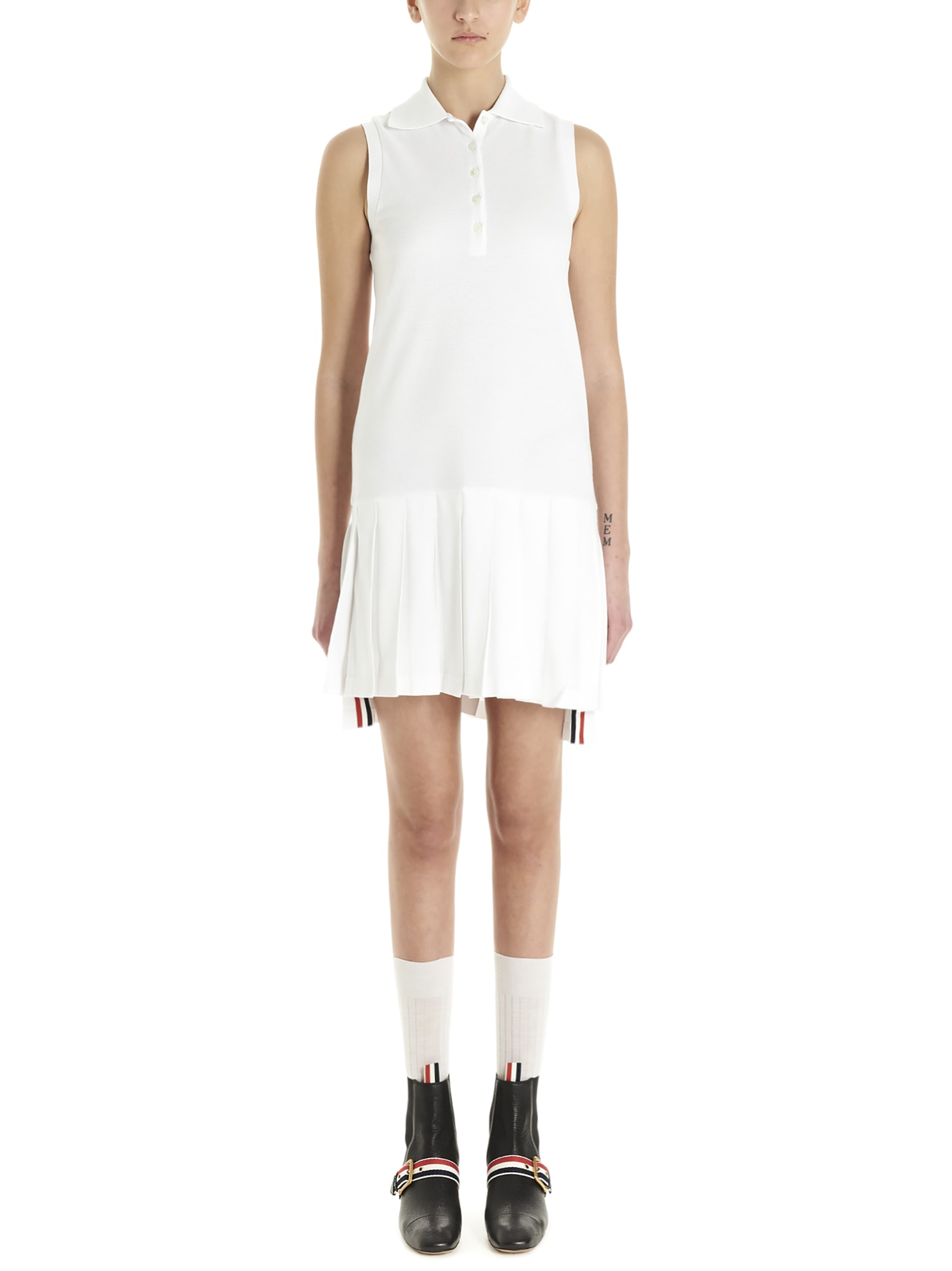 Buy Thom Browne tennis Dress online, shop Thom Browne with free shipping