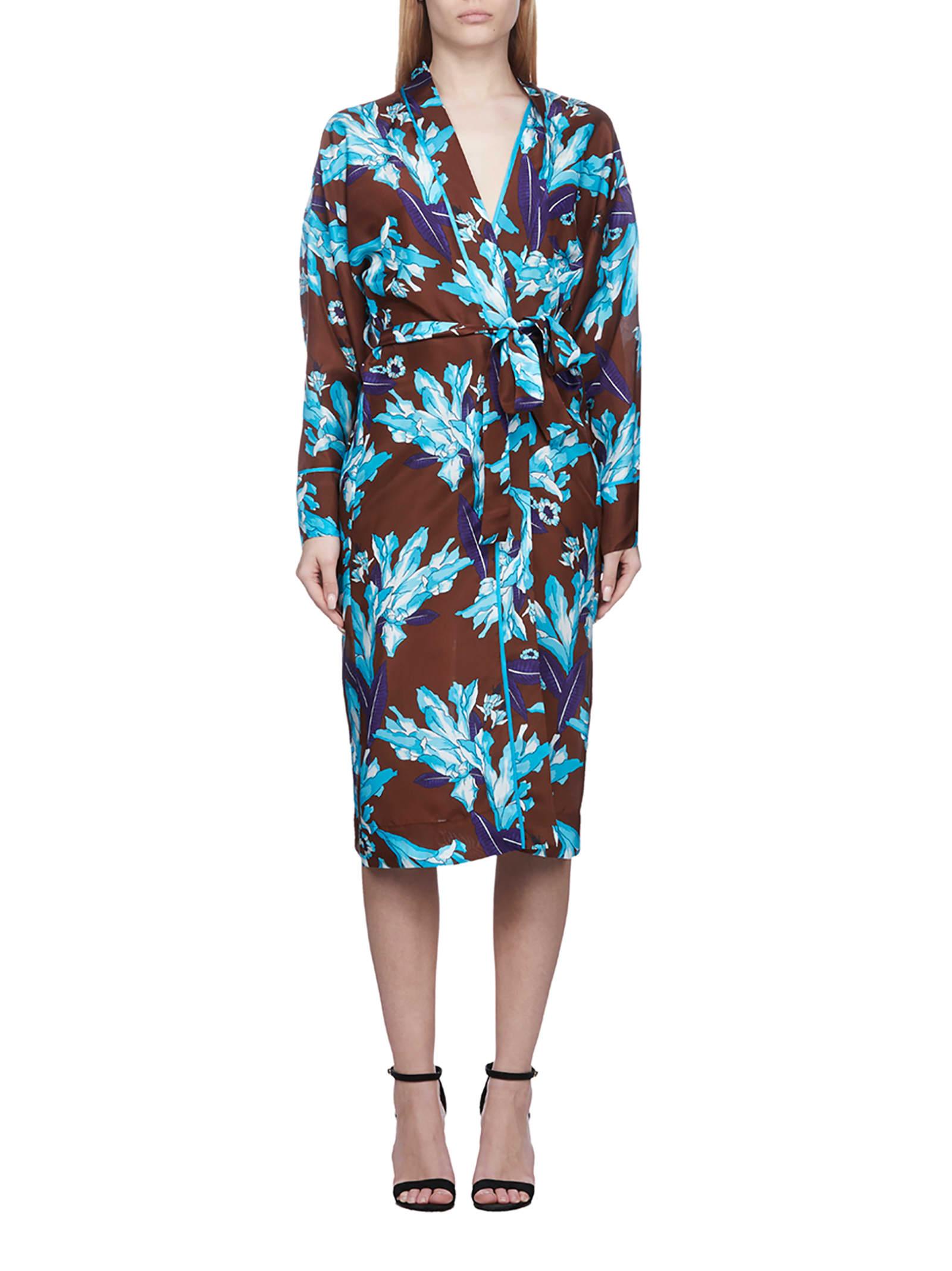 Buy Parosh Floral Dress online, shop Parosh with free shipping