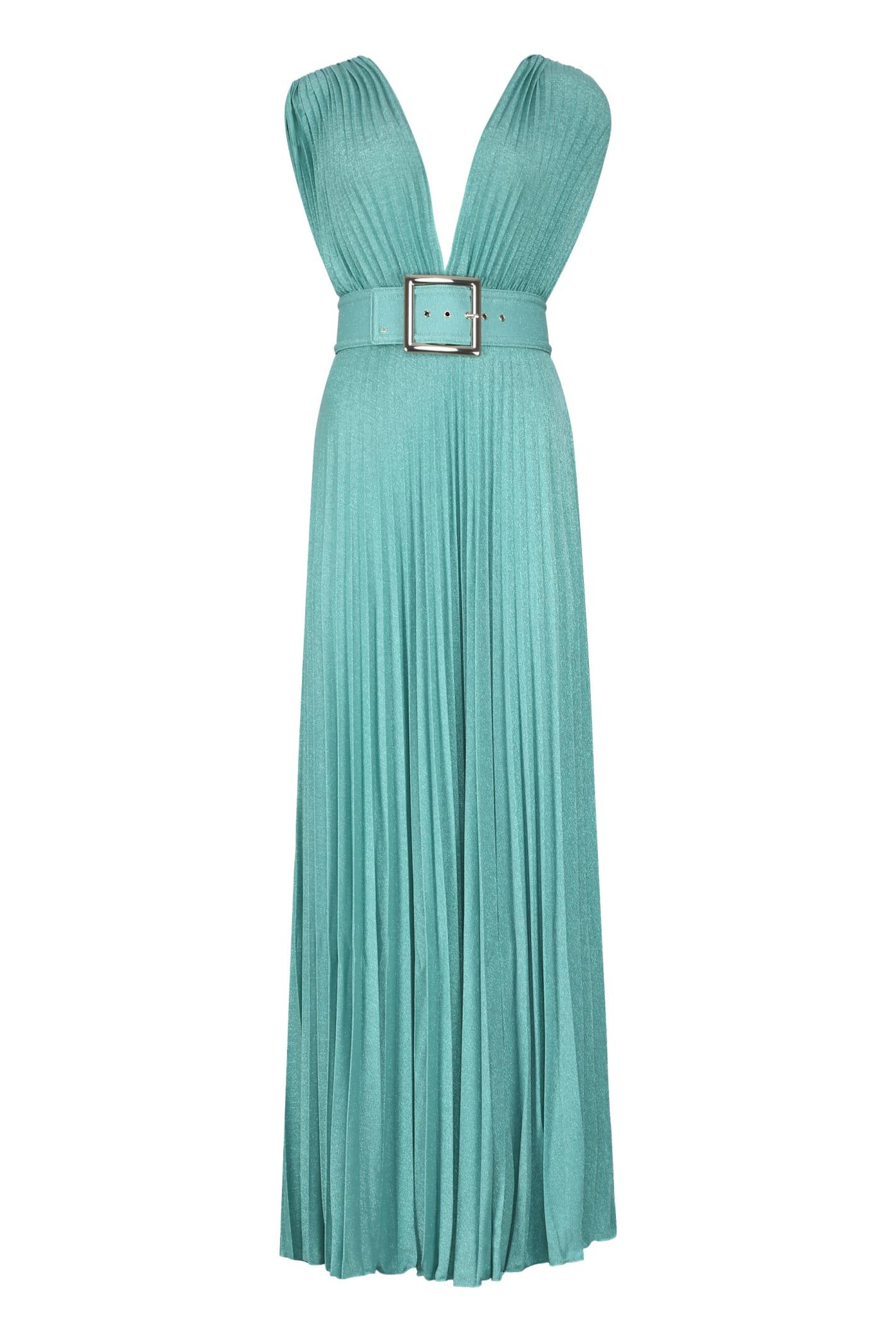 Elisabetta Franchi Lurex Knit Dress