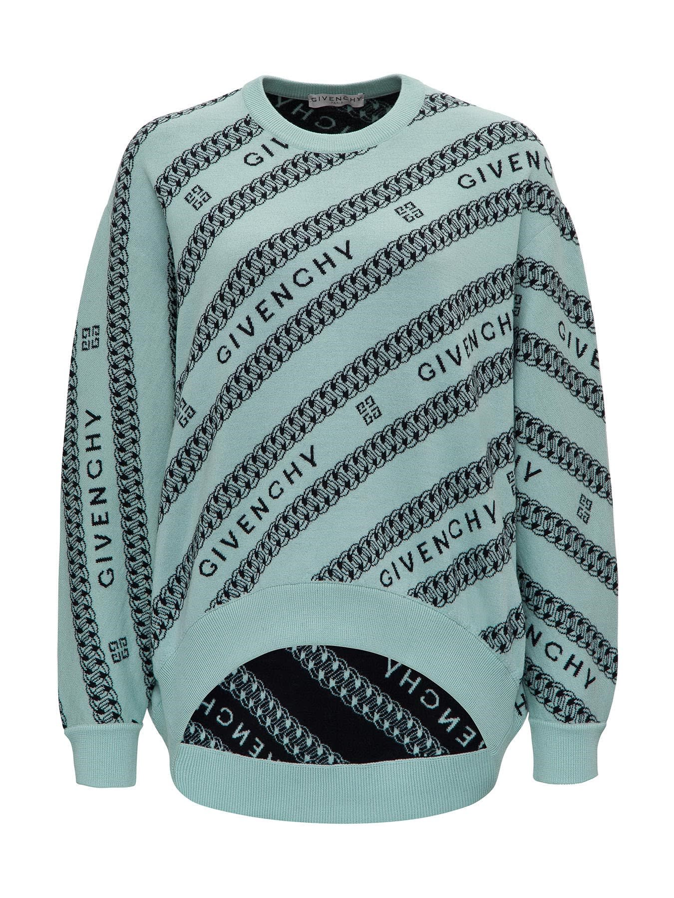 Givenchy WOOL JACQUARD SWEATER