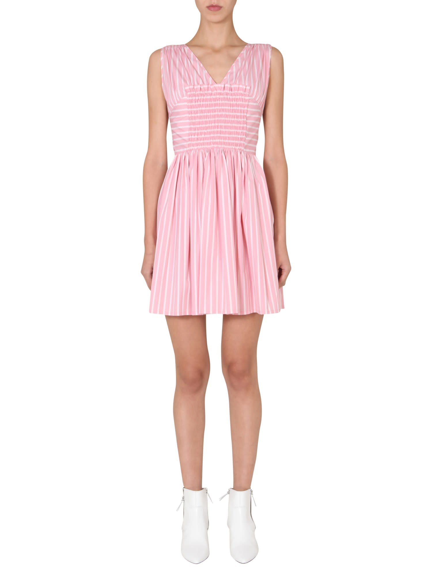 Buy MSGM Dress Without Sleeves online, shop MSGM with free shipping
