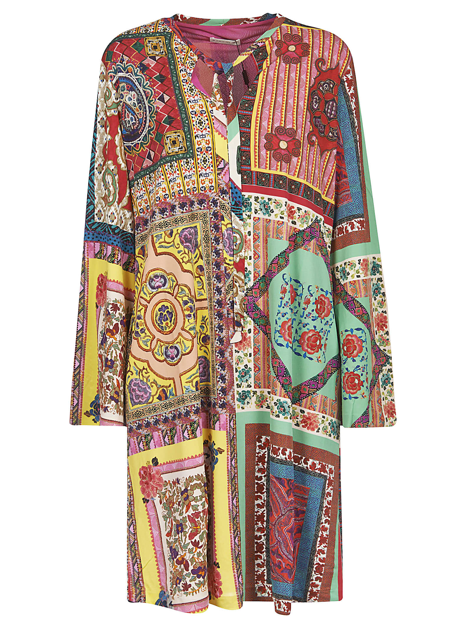 Buy Etro Abstract Print Mutli-print Dress online, shop Etro with free shipping