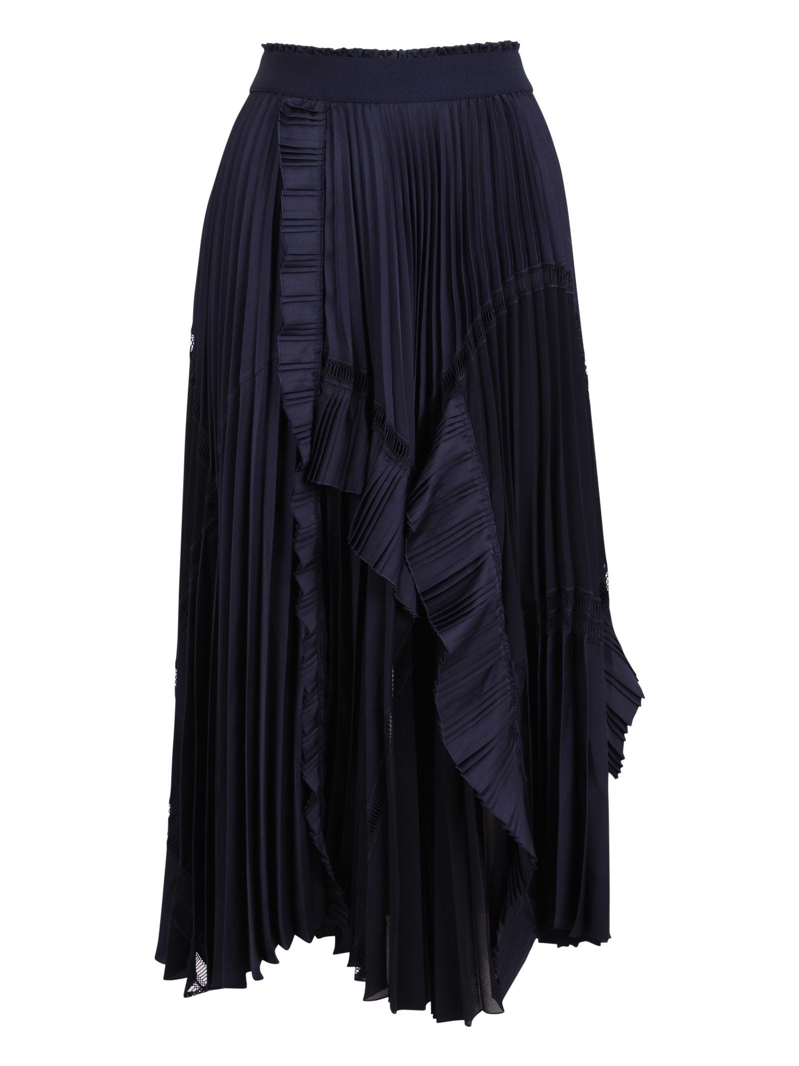 High Skirts FANTASTIC POLYESTER SKIRT