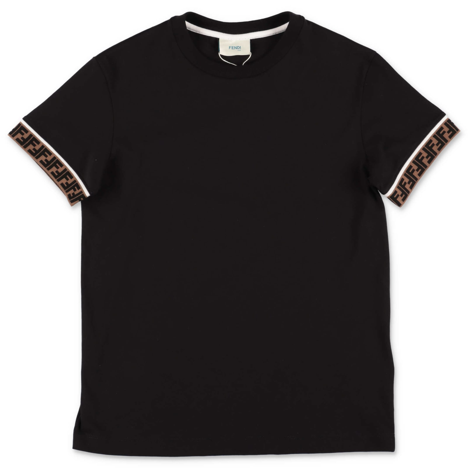Fendi Kids' T-shirt In Nero