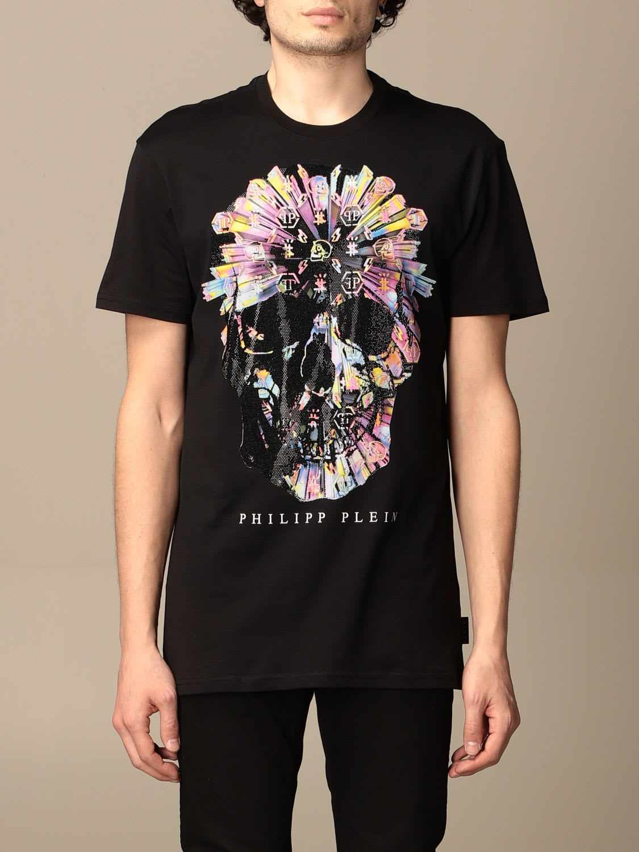 Philipp Plein T-shirt Philipp Plein Cotton T-shirt With Skull