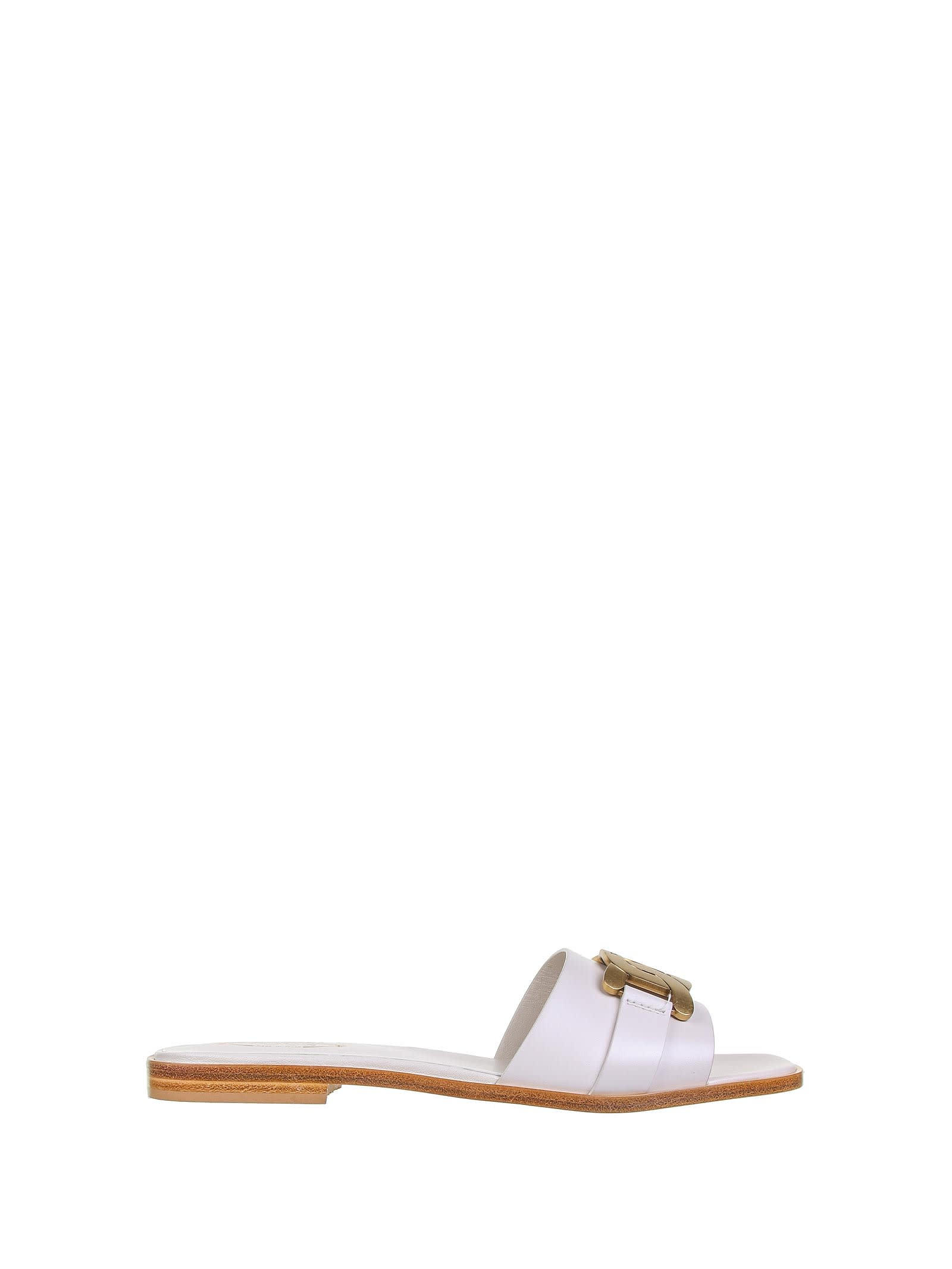 Tods Tods White Sandals