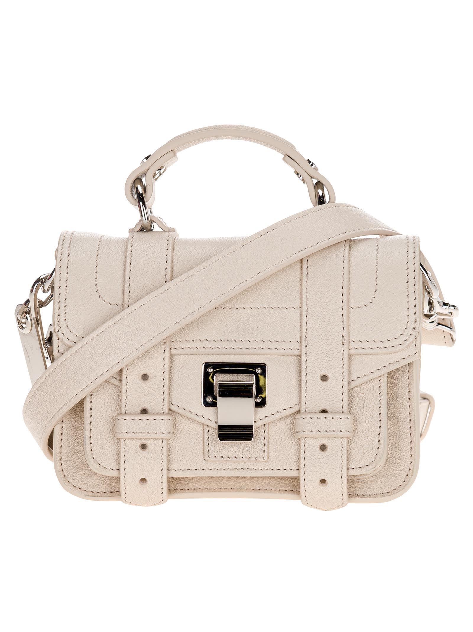 Proenza Schouler Leathers PS1 MICRO BAG