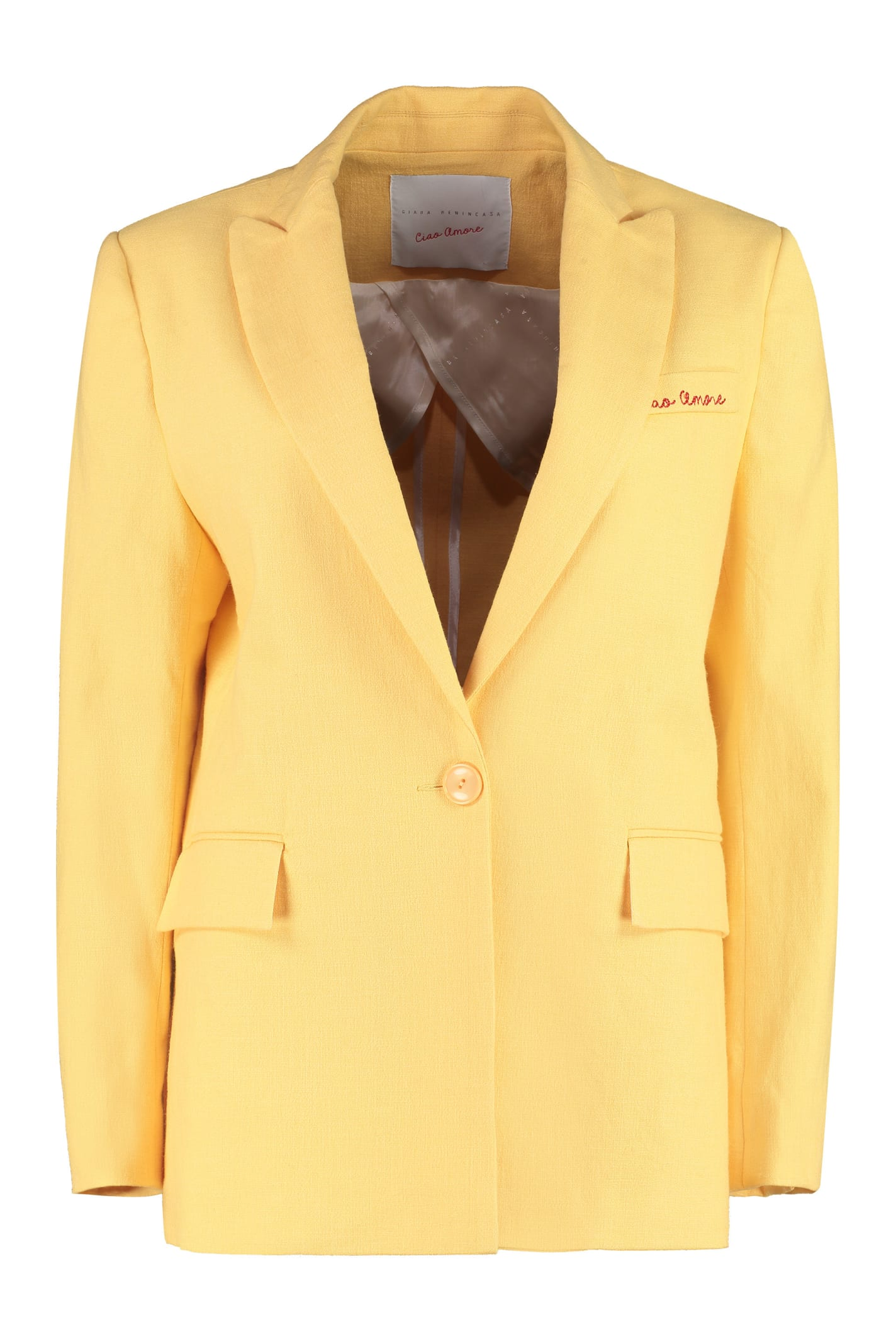Giada Benincasa Single-breasted One Button Jacket