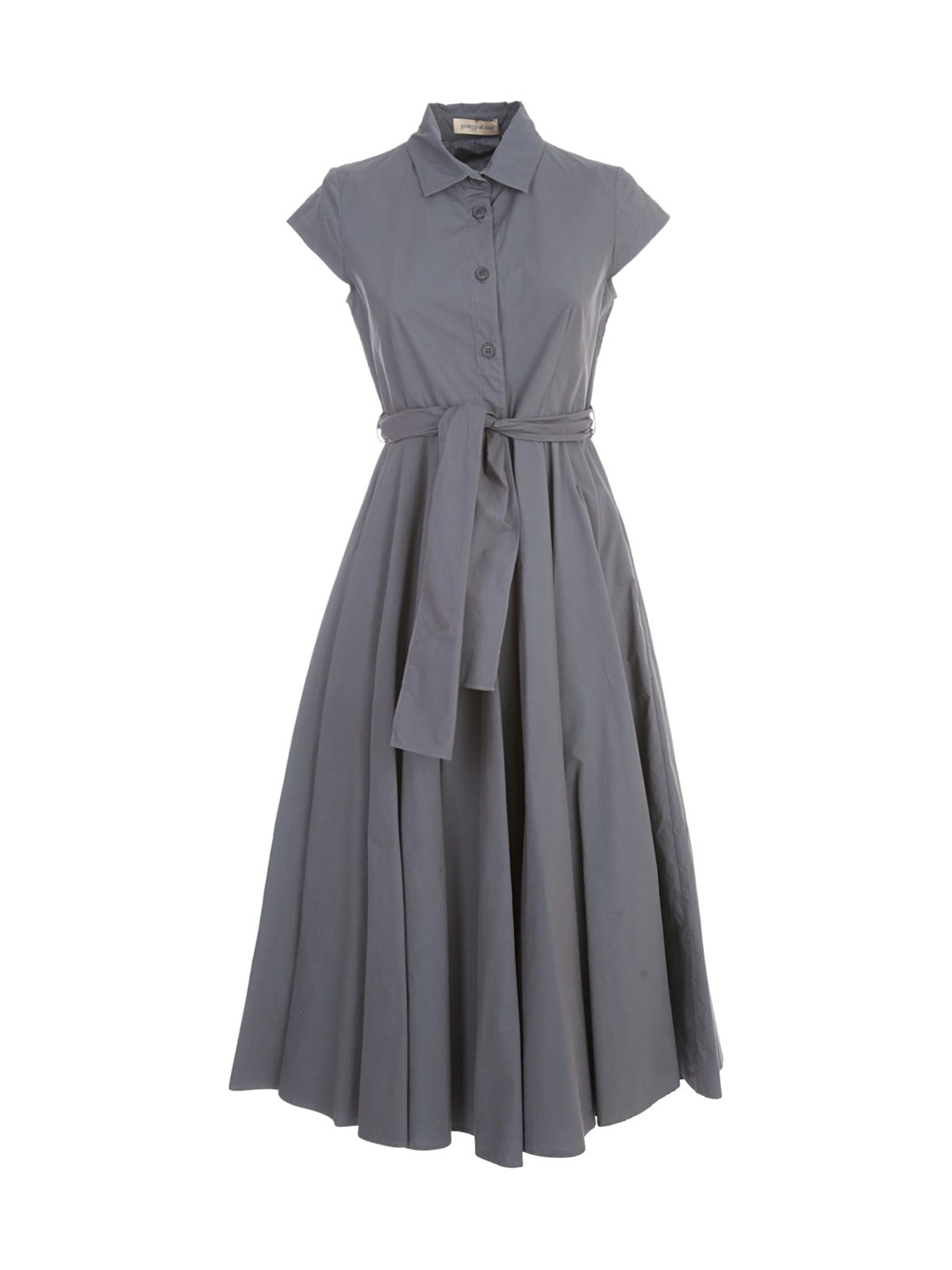 Buy Gentry Chemisier Longuette Dress W/circle Skirt online, shop Gentry with free shipping