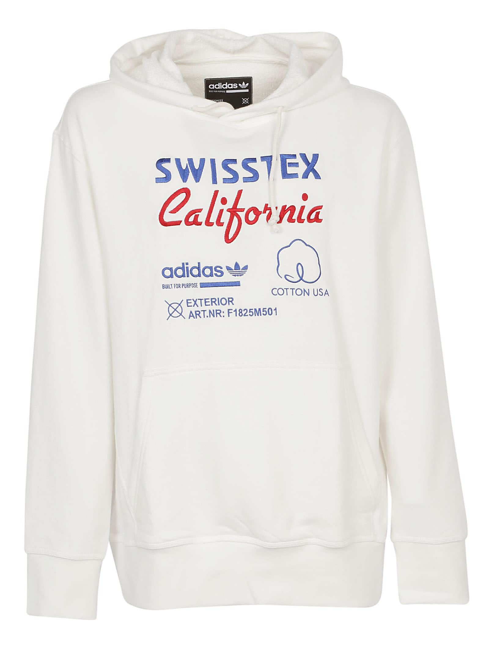 0d15ca3a Adidas Adidas Kaval Fz Hoodie - Cloud white - 10709289 | italist