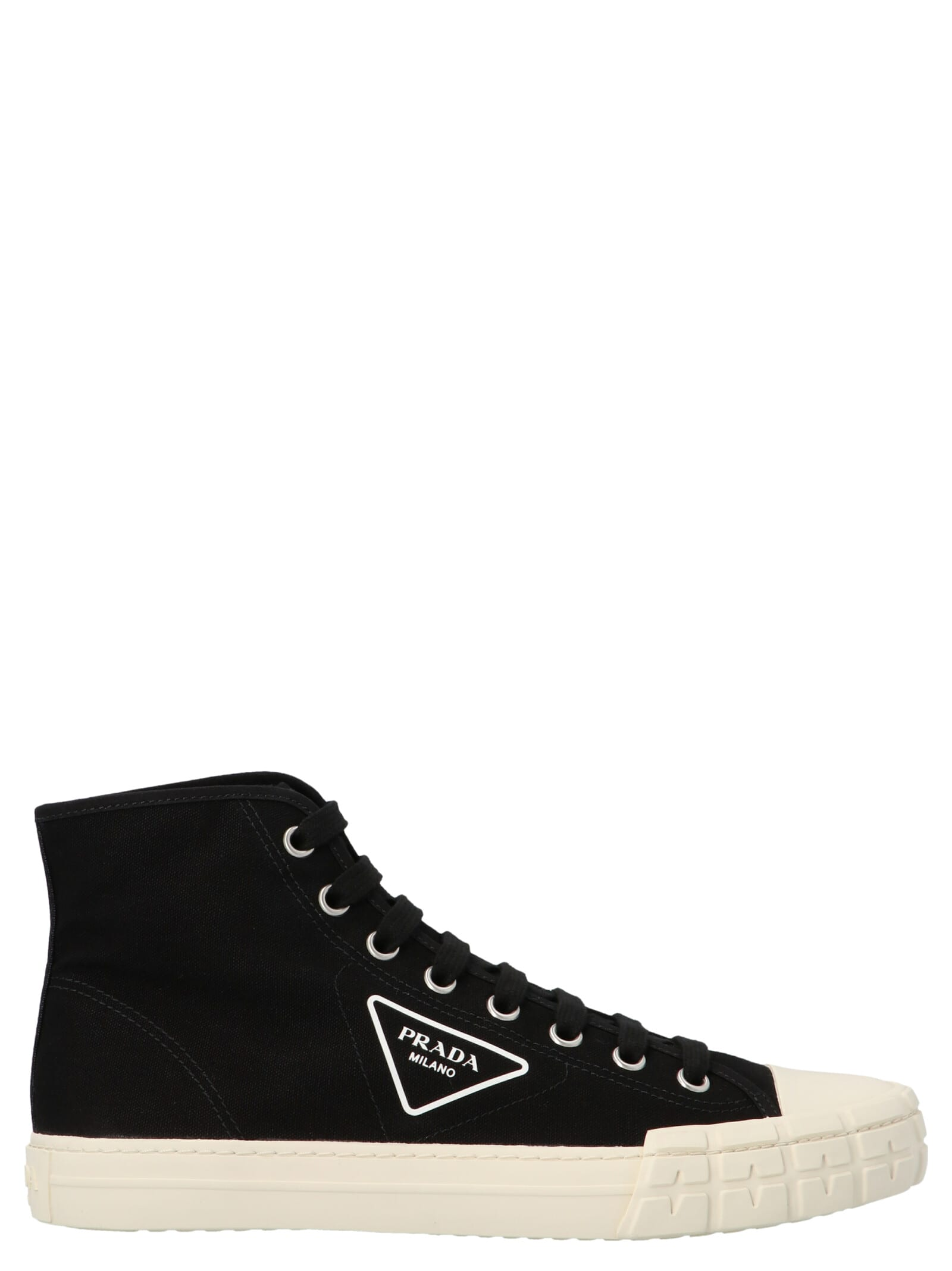 PRADA Canvases HIGH WHEEL SHOES