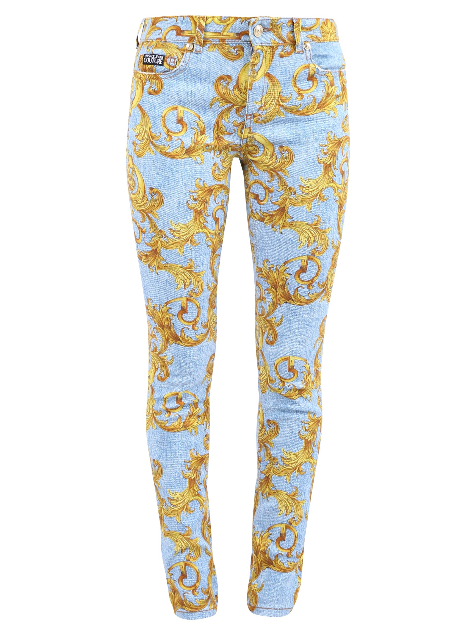 Versace Jeans Couture Printed Jeans
