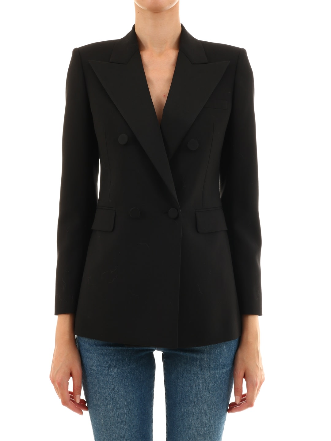 Saint Laurent Black Wool Blazer