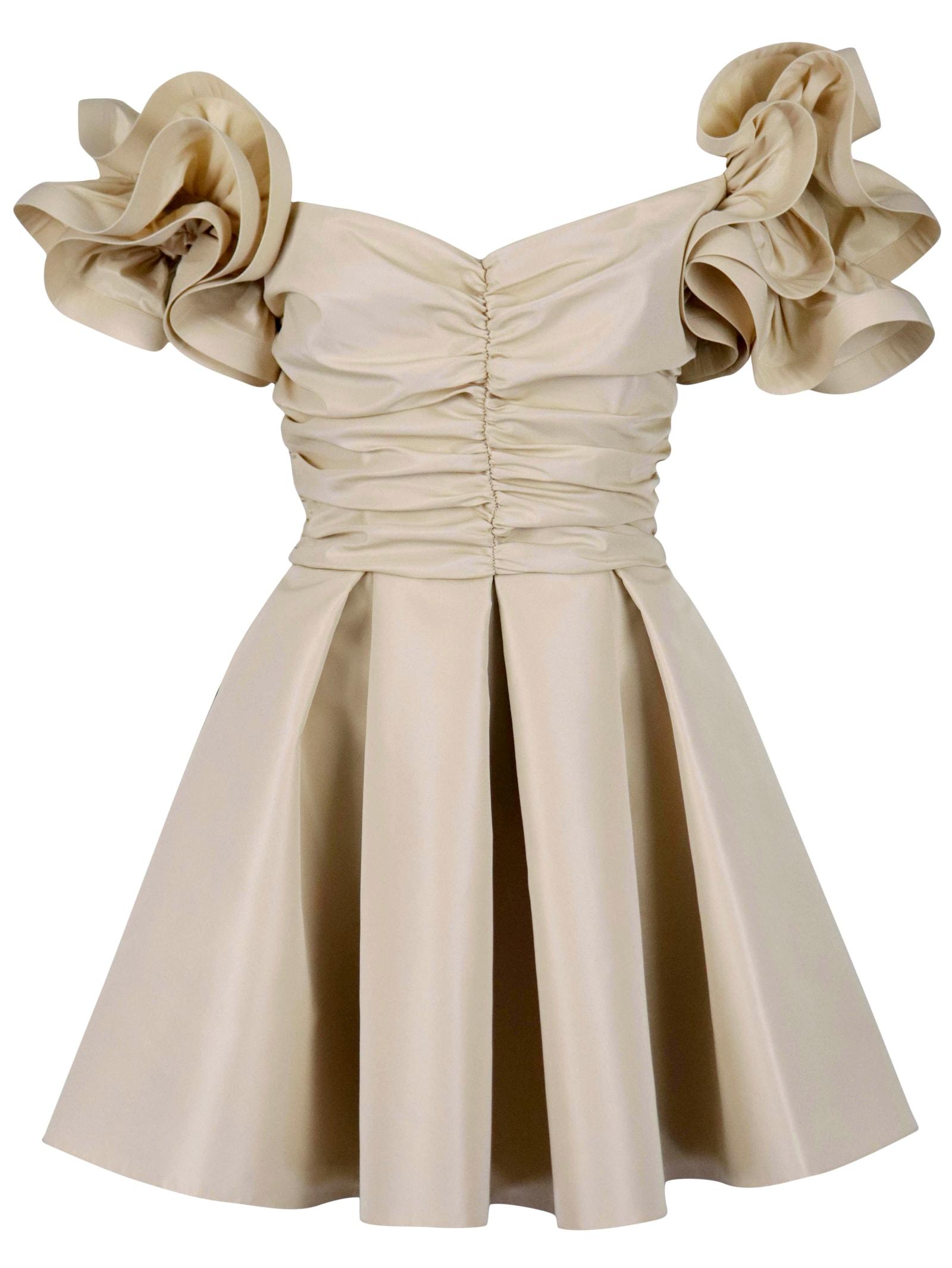 Elisabetta Franchi Rouches Dress Dress