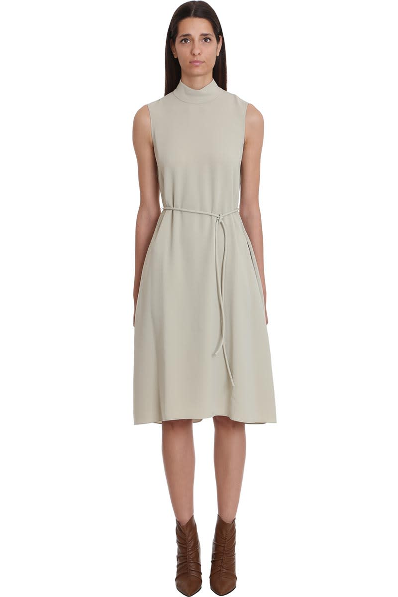 Theory Dress In Green Tech & synthetic