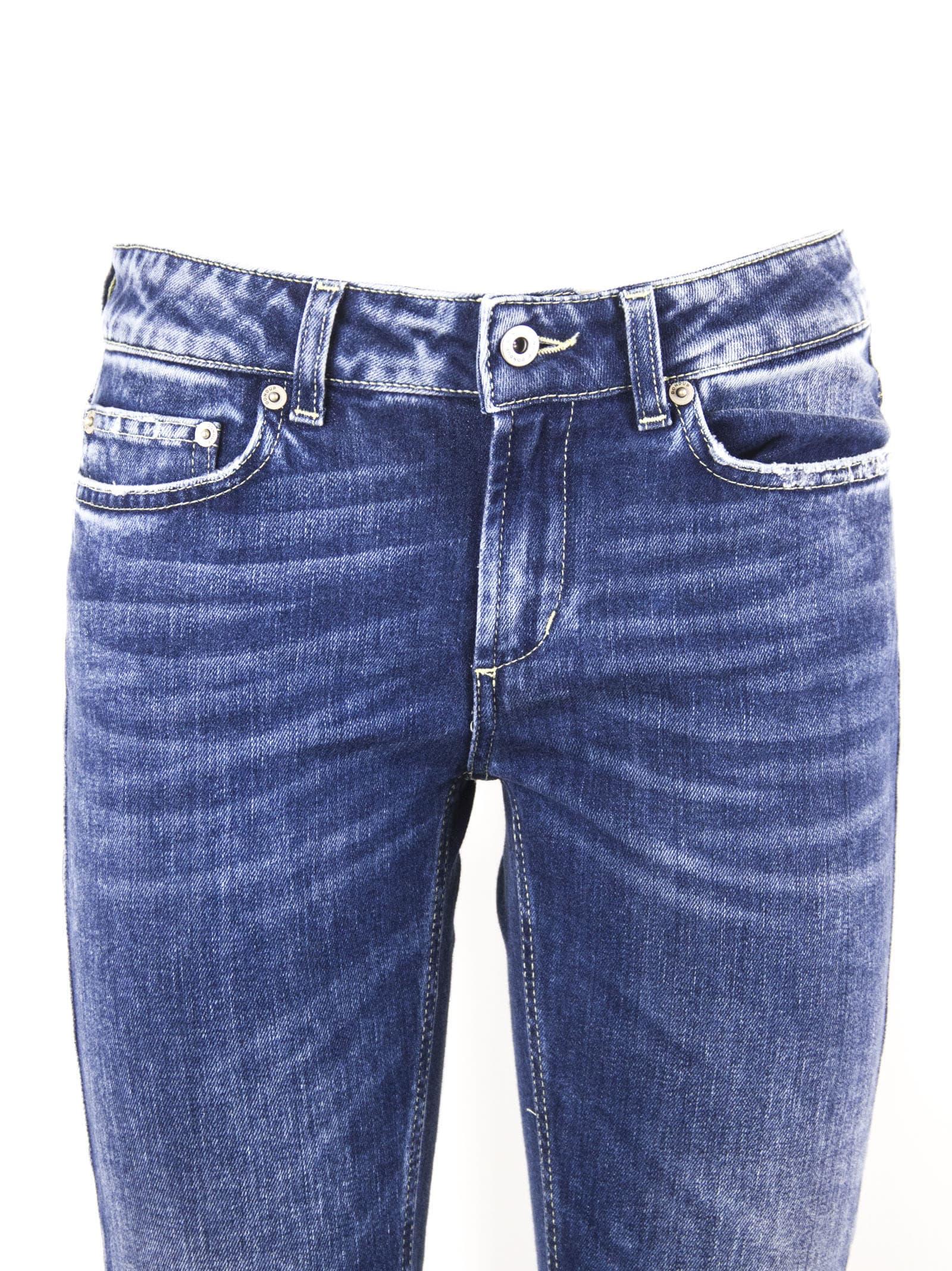 sports shoes 433bd 80469 Dondup Blue Cotton Jeans