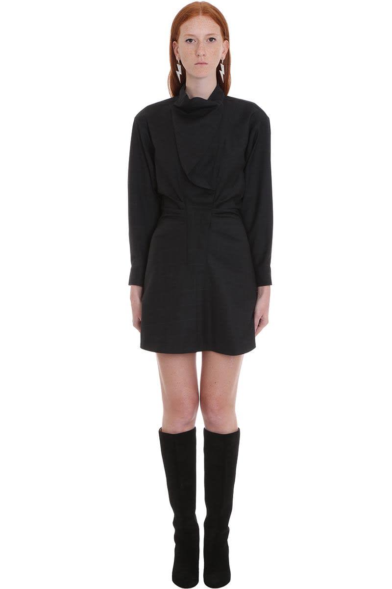Isabel Marant Étoile Valentine Dress In Grey Wool