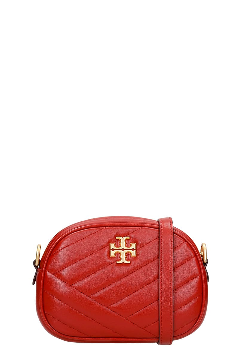 Tory Burch Kira Shoulder Bag In Red Leather
