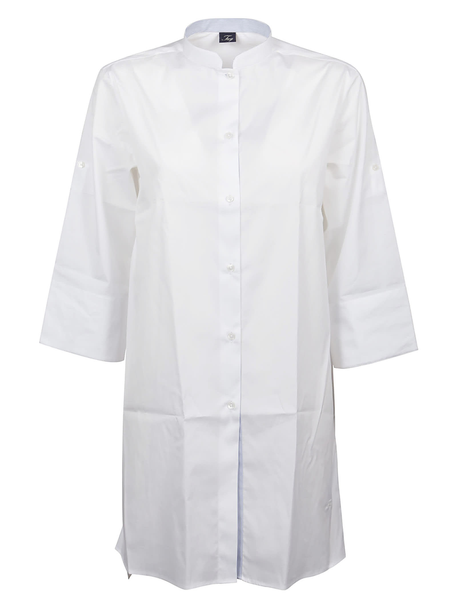Buy Fay Shirt Slim Dressy online, shop Fay with free shipping