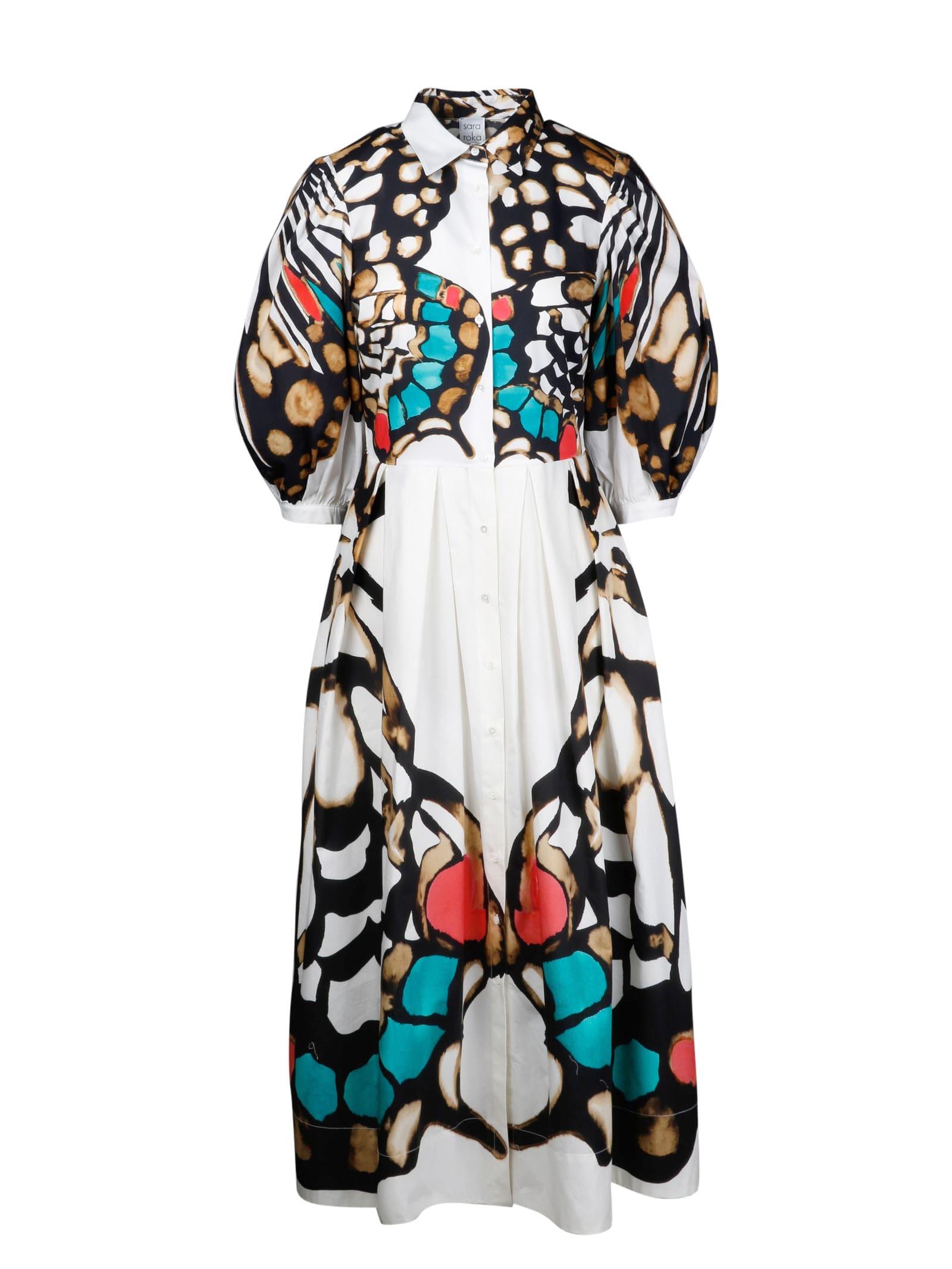 Buy Sara Roka Maxi Dress Printed online, shop Sara Roka with free shipping