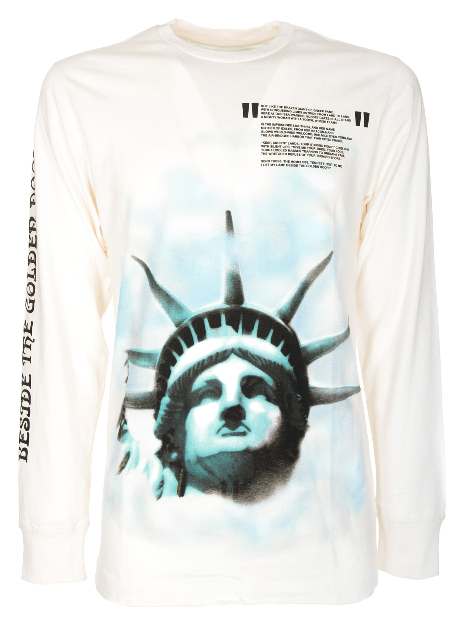 Off-White Off-white Liberty Longsleeves T-shirt - 10634609