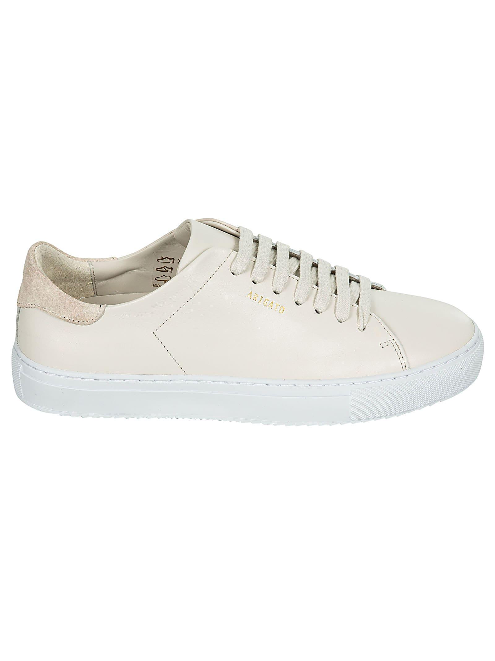 Axel Arigato Logo Sneakers In Off White