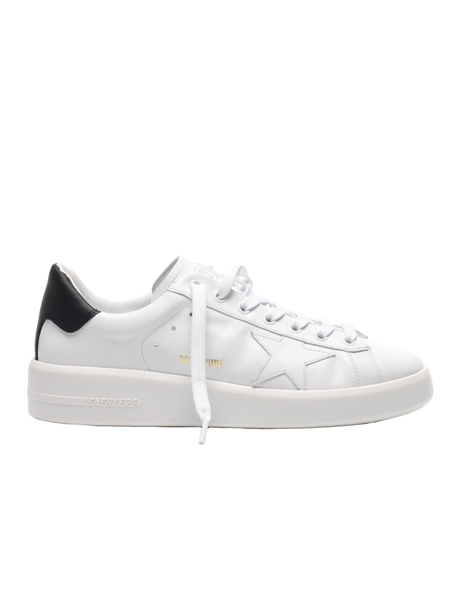 Golden Goose Purestar Sneakers Black Heel