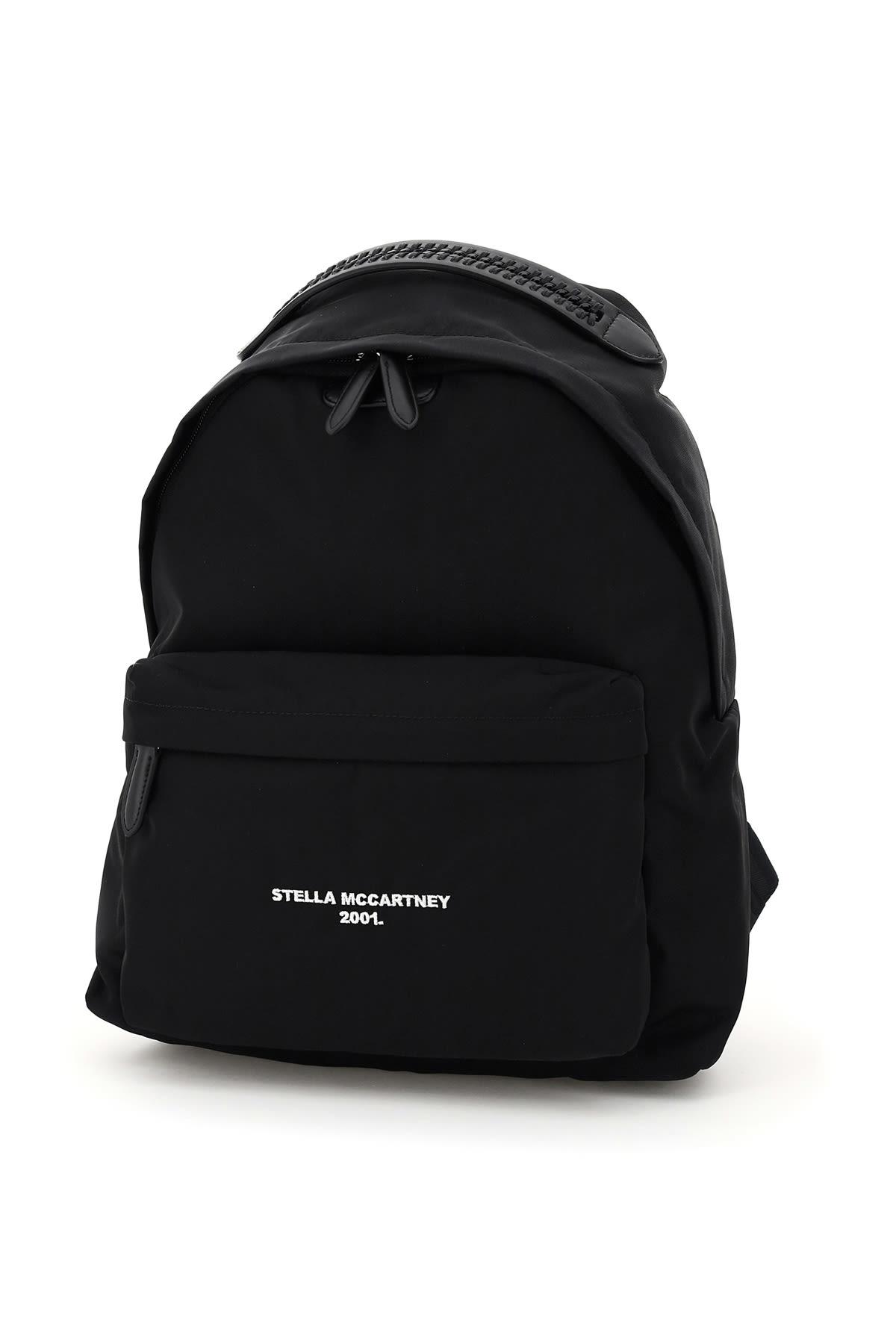 Stella McCartney Logo Go Nylon Backpack