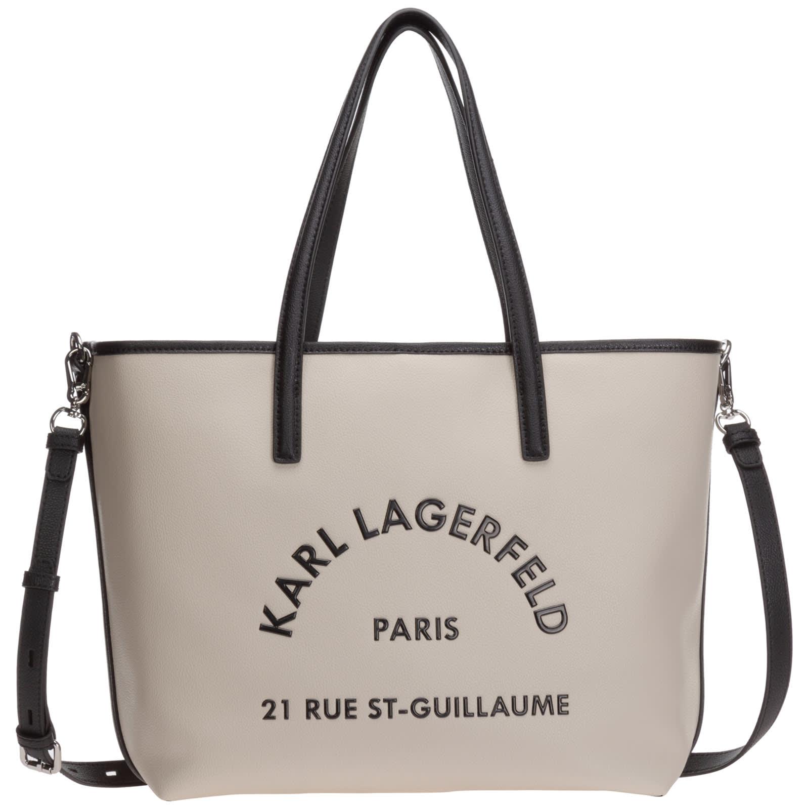 Karl Lagerfeld Rue St Guillaume Tote Bag