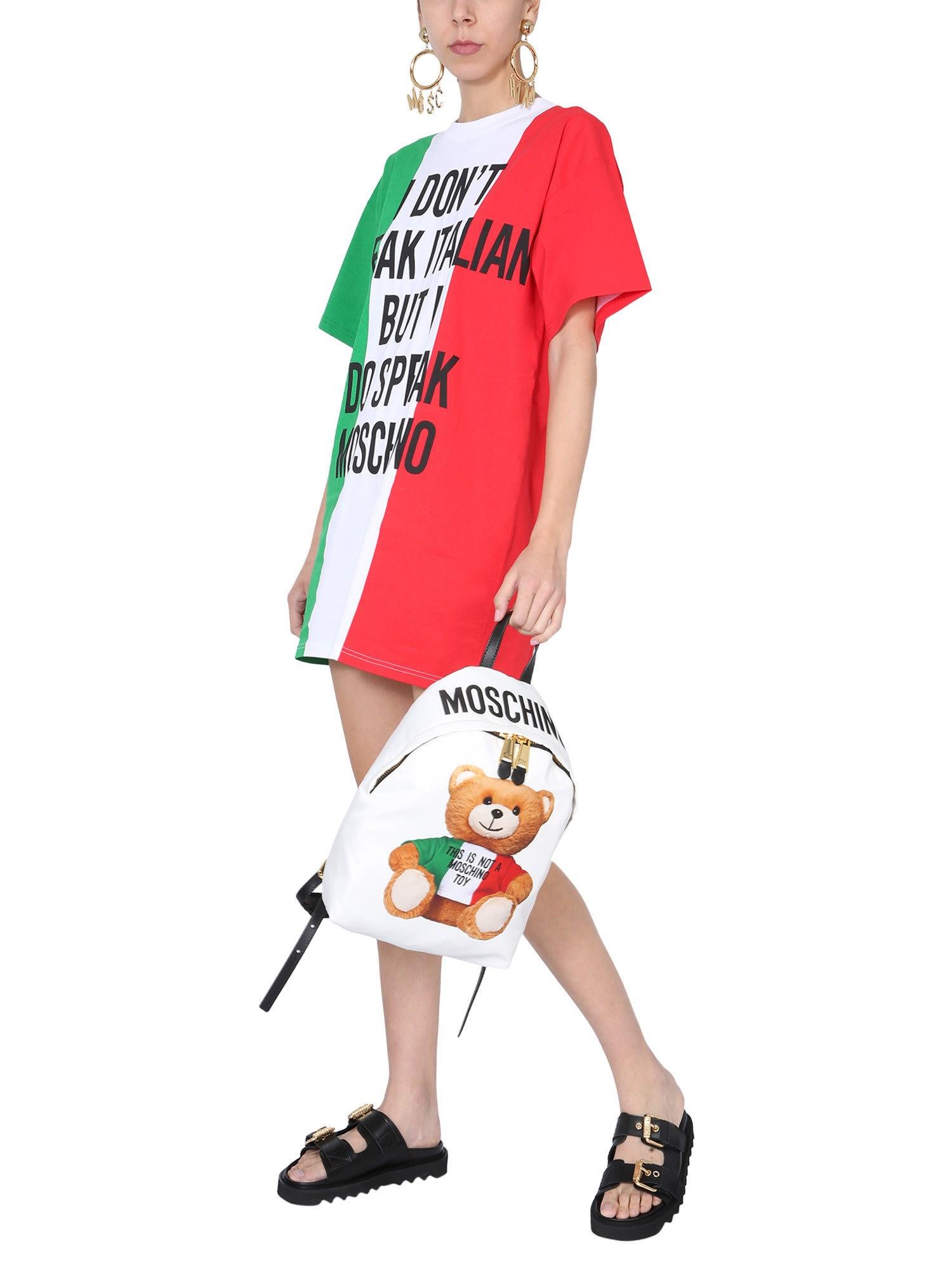 Moschino Round Neck Dress