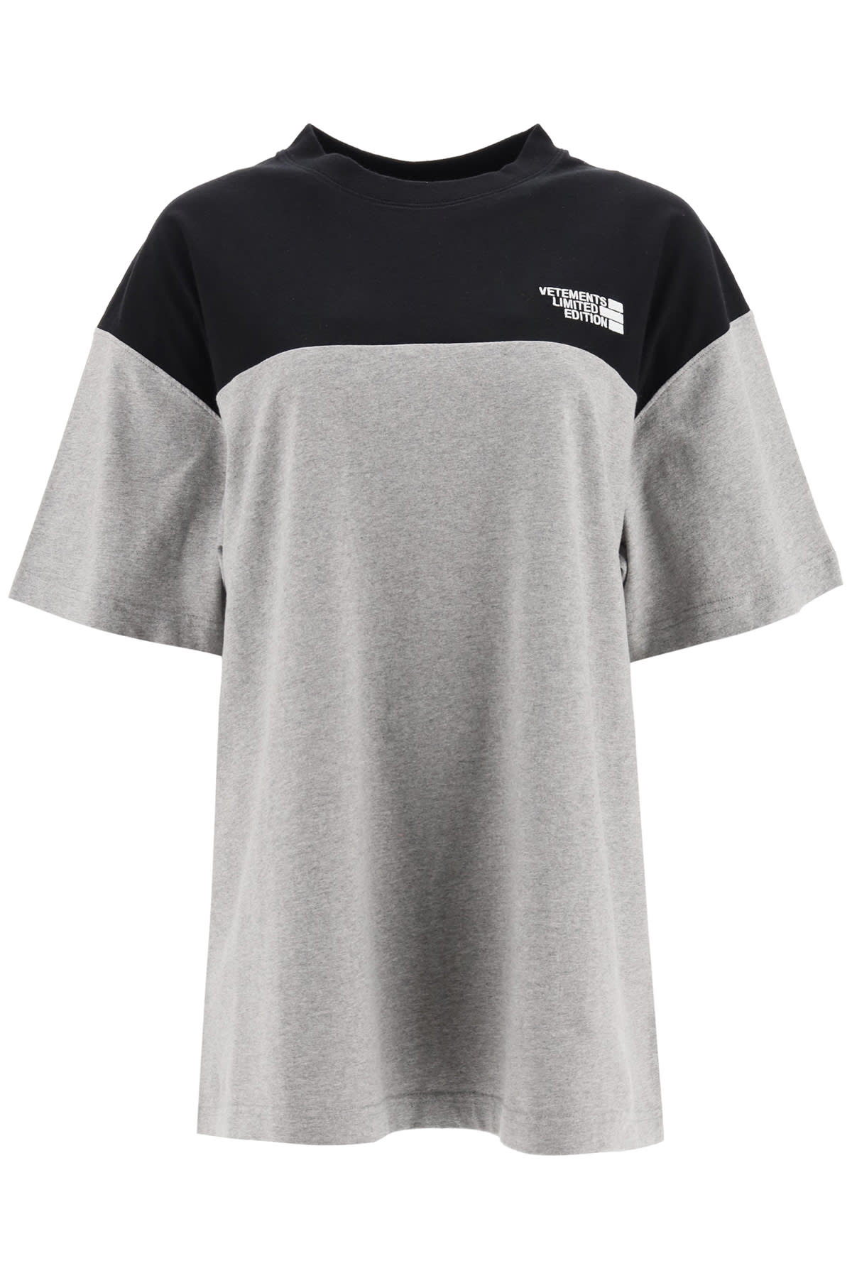 Vetements T-SHIRT WITH LOGO EMBROIDERY