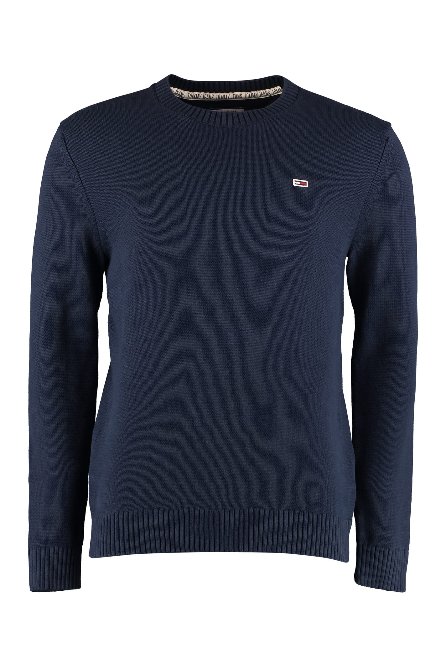 Tommy Jeans Long-sleeved Crew-neck Sweater