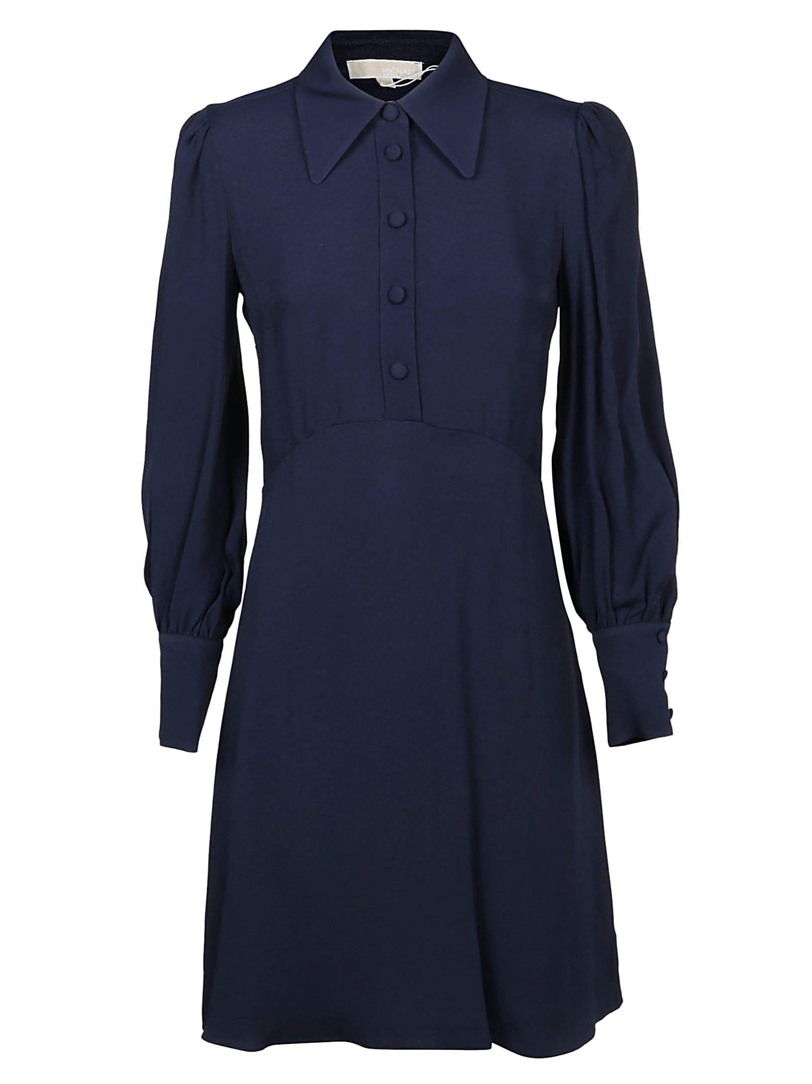 Michael Kors Vi Satin Mini Dress